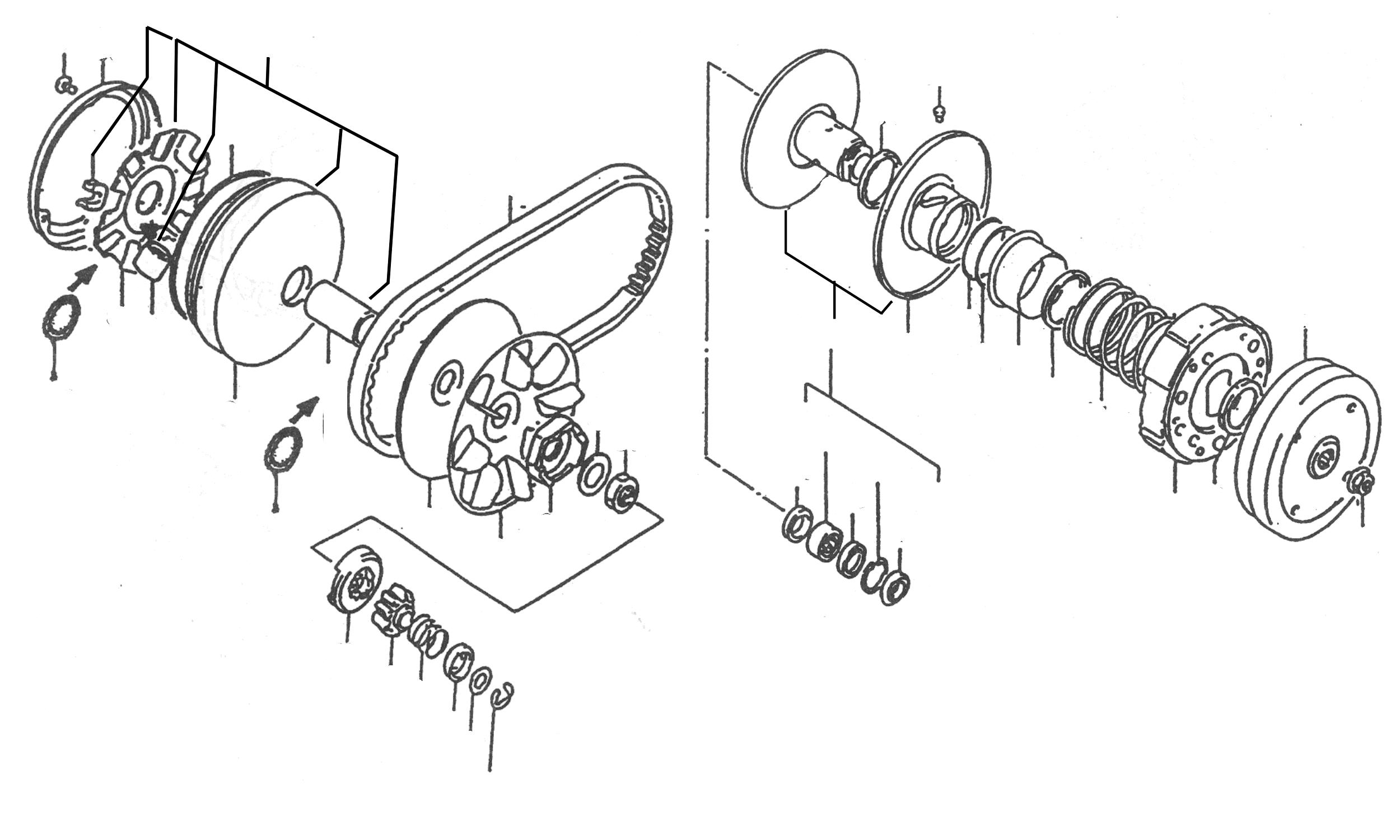 variomatik  kupplung