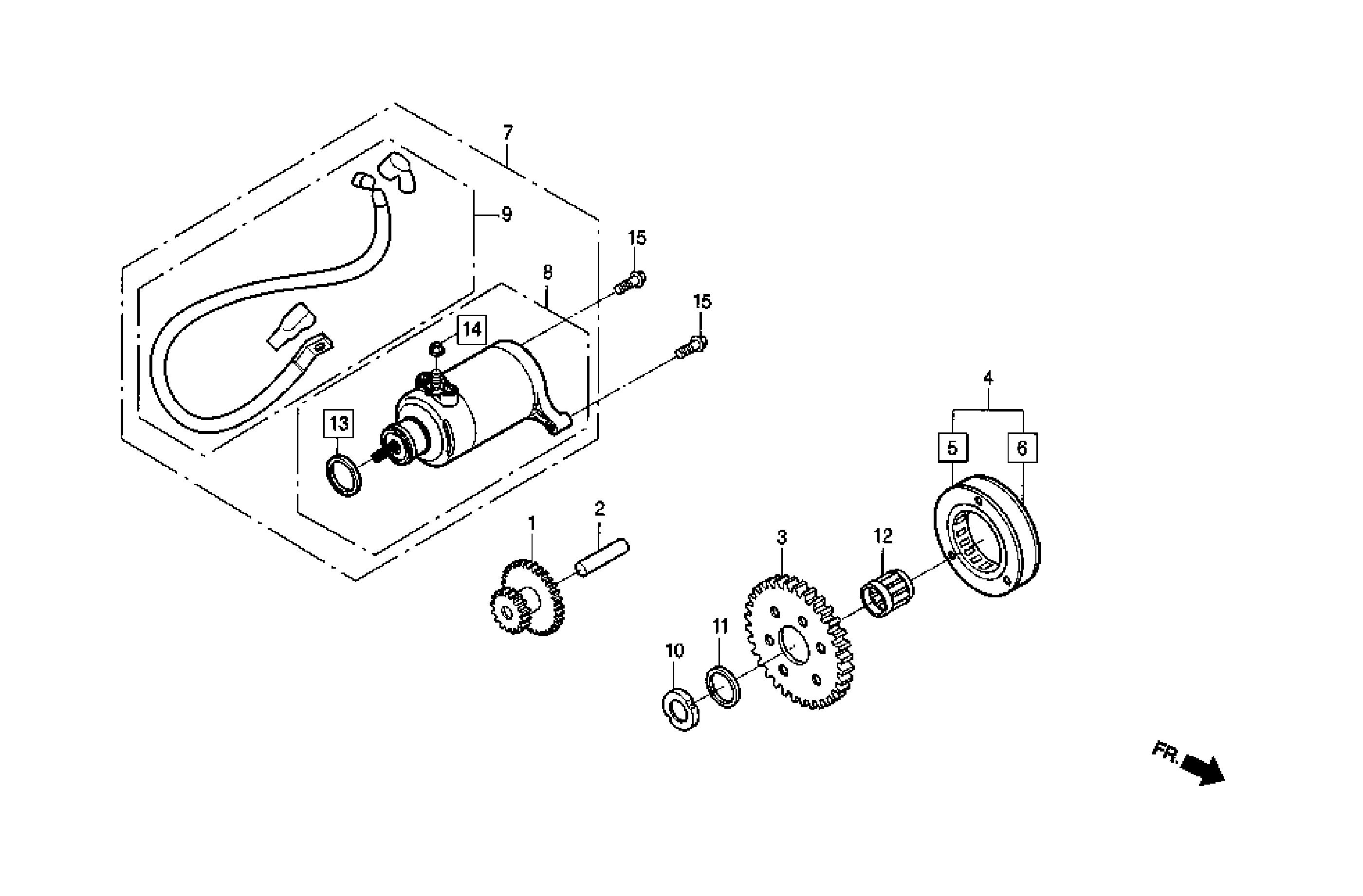 Anlasser / Freilauf