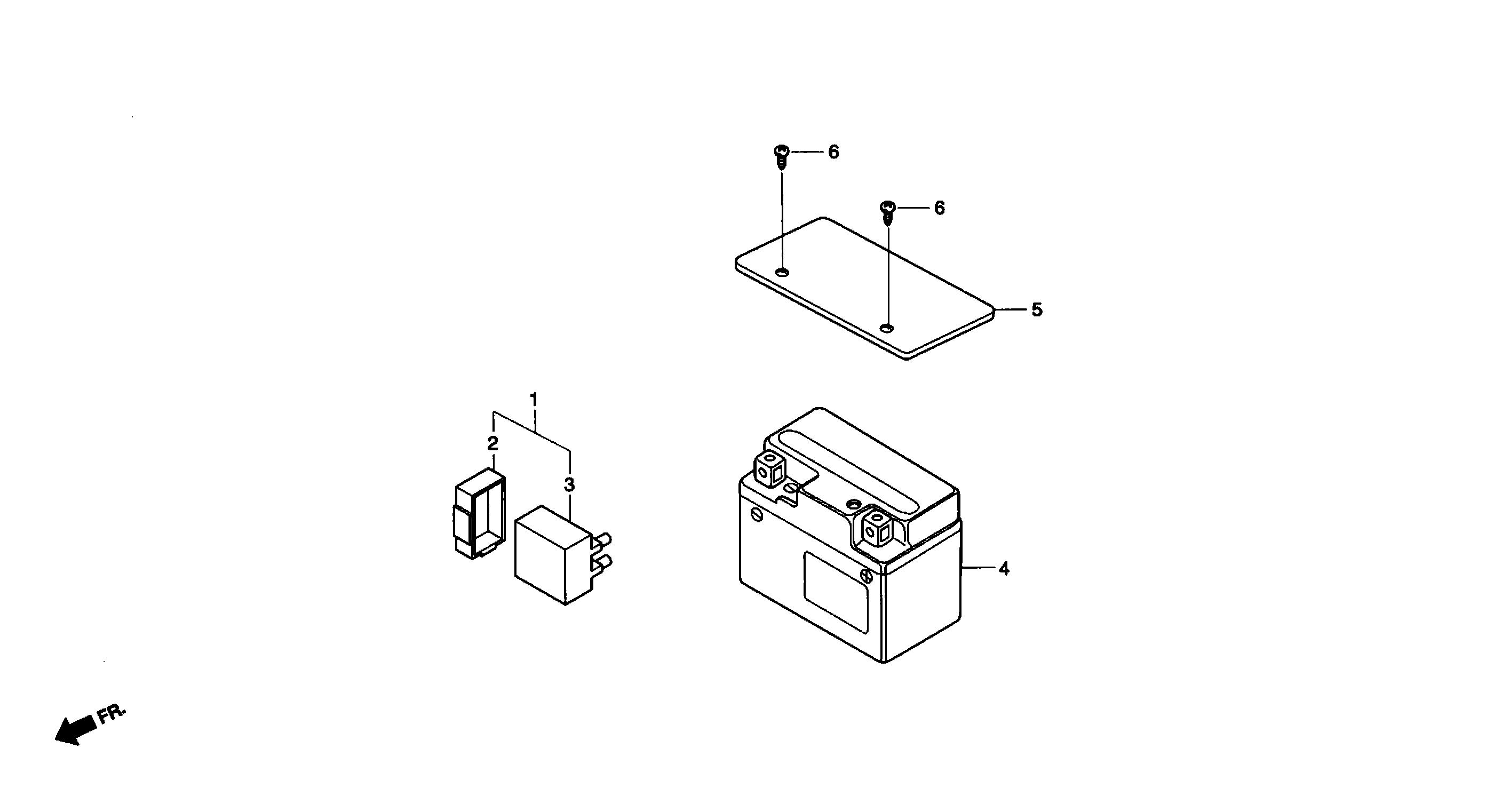 Batterie, CDI