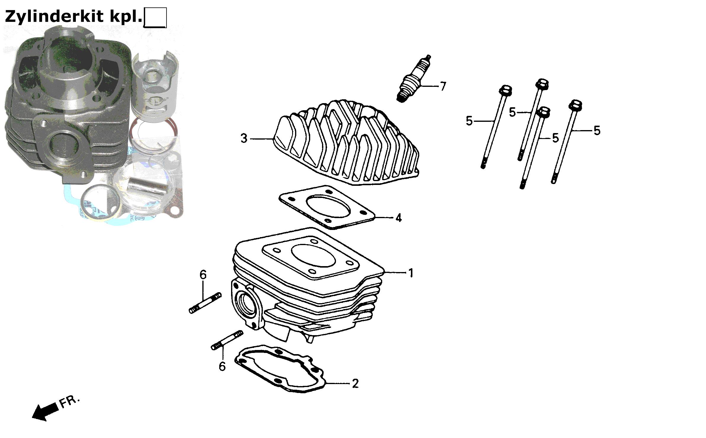 Zylinder / Zylinderkopf