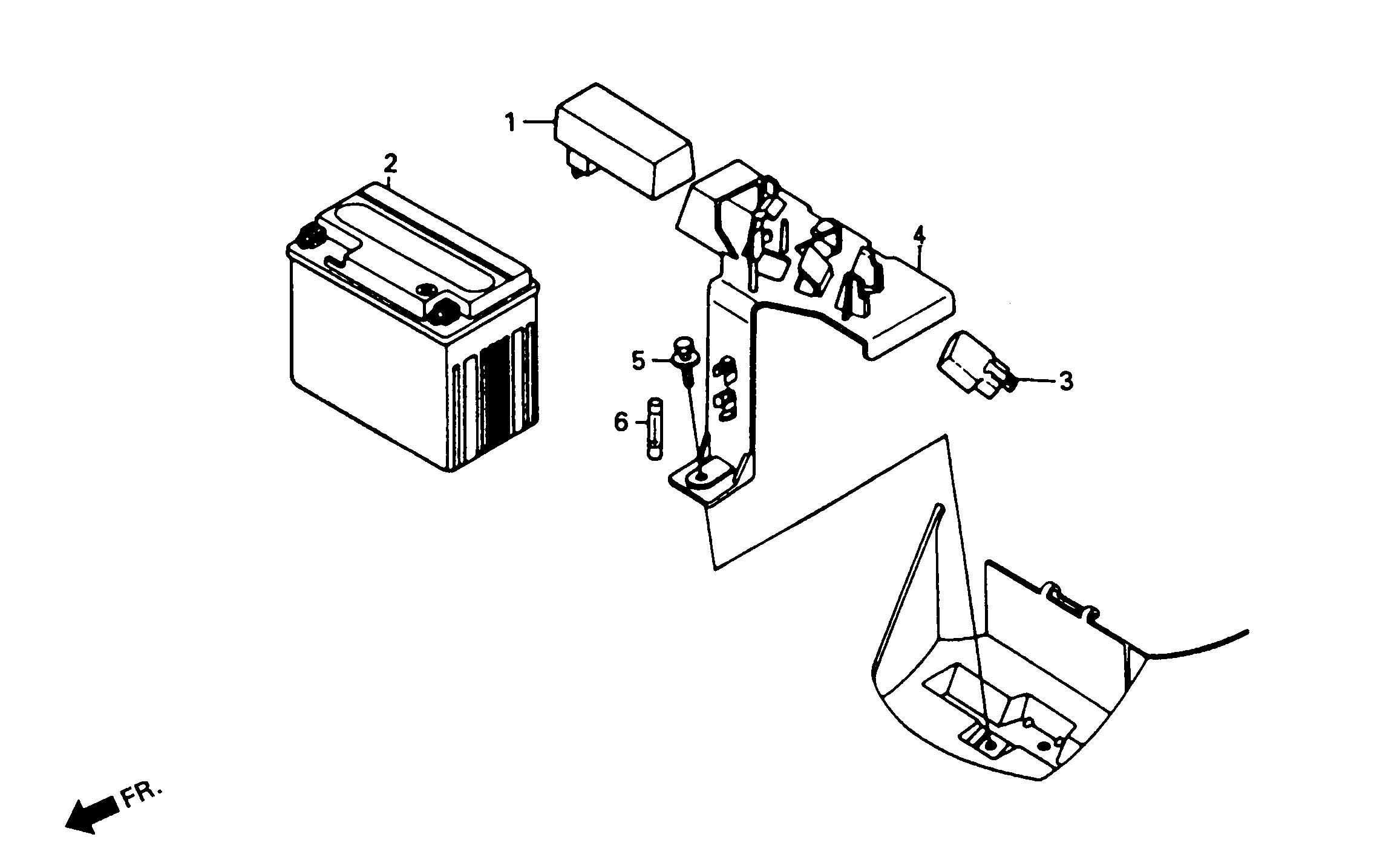Batterie / CDI