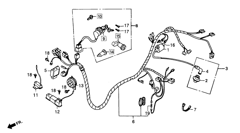 Kabelbaum / Zündspule / Elektrik