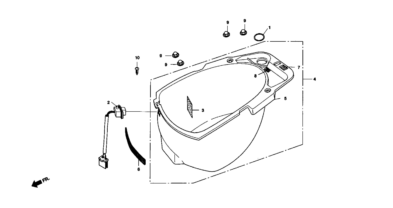 Helmfach