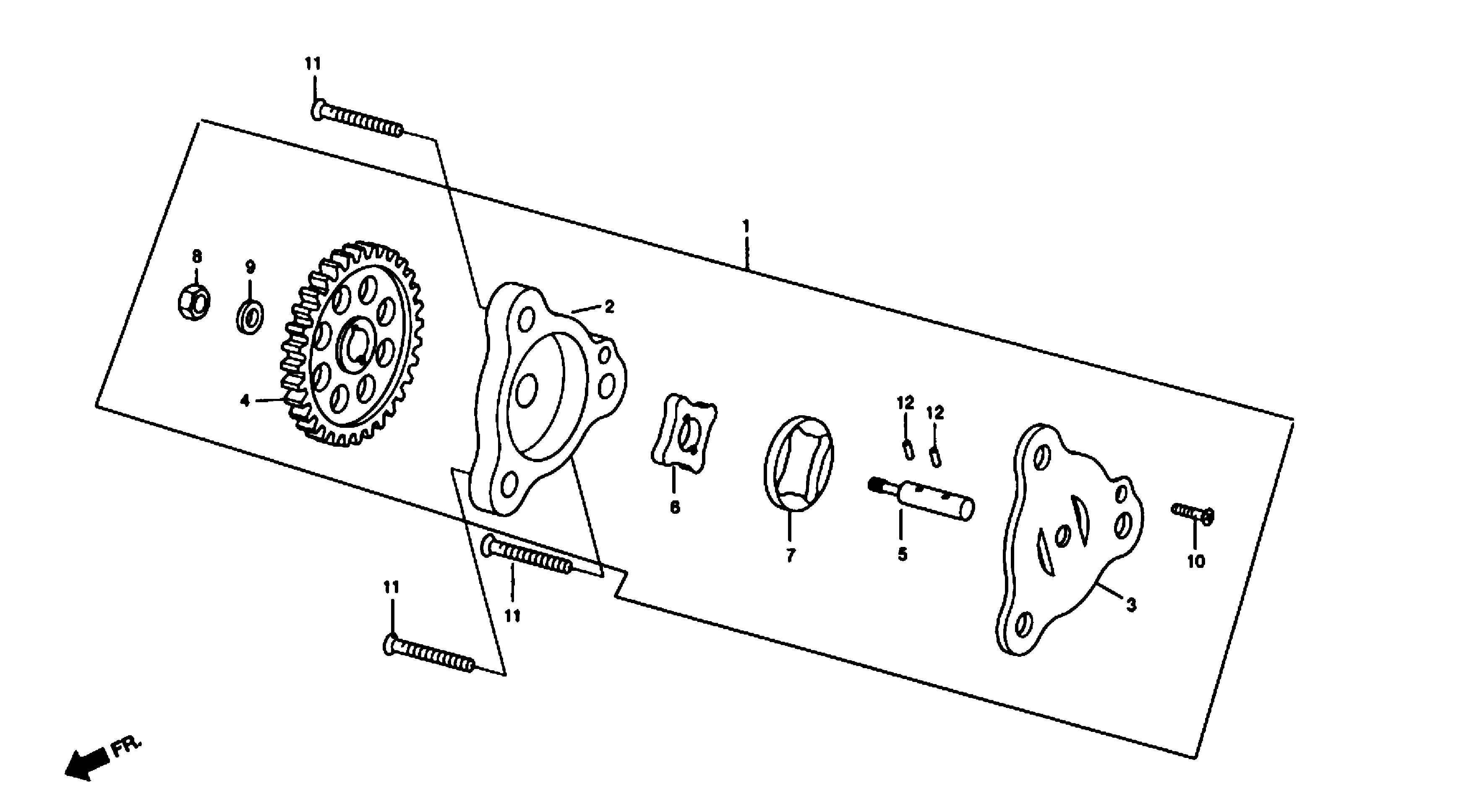 Ölpumpe