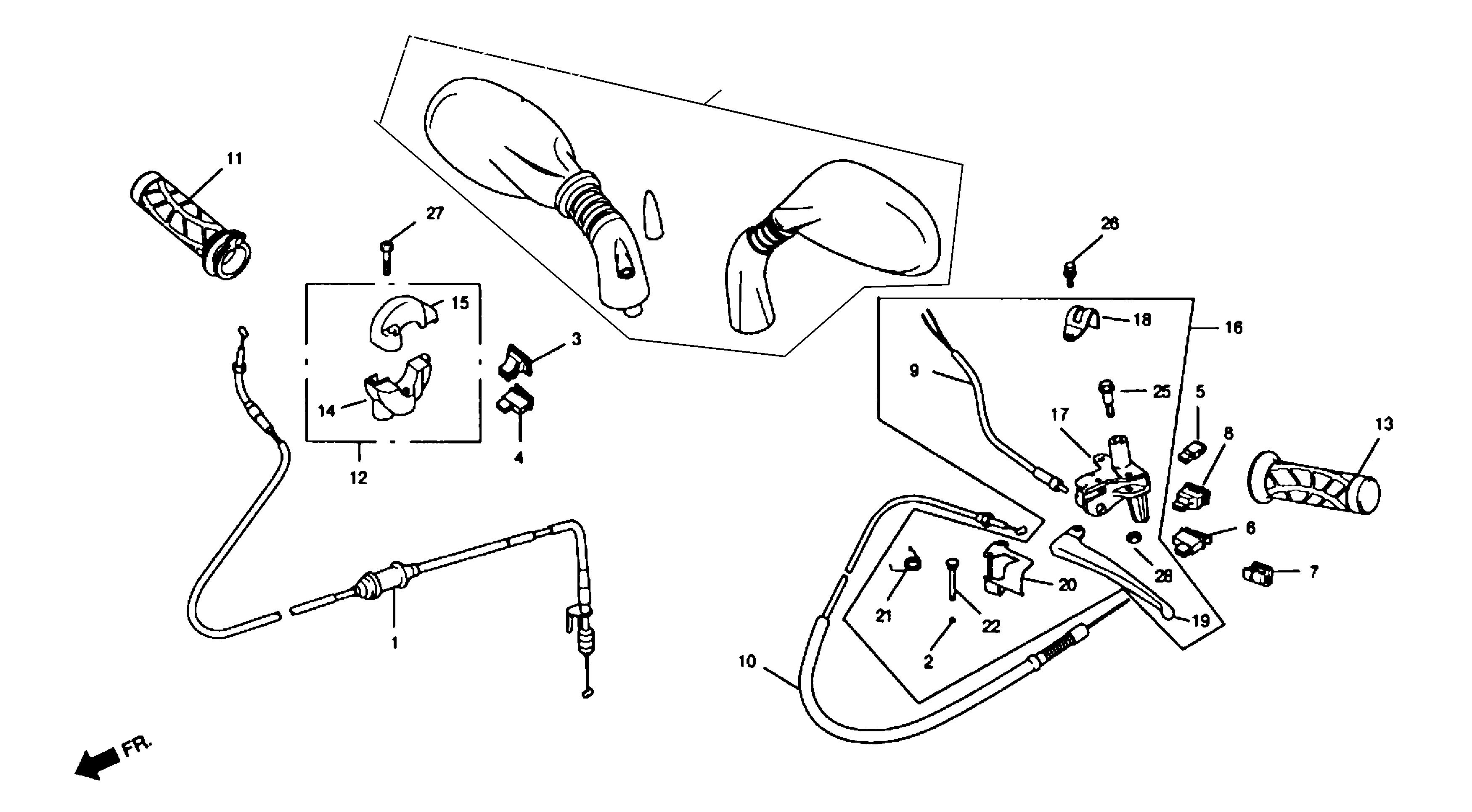Griffe / Schalter / Züge
