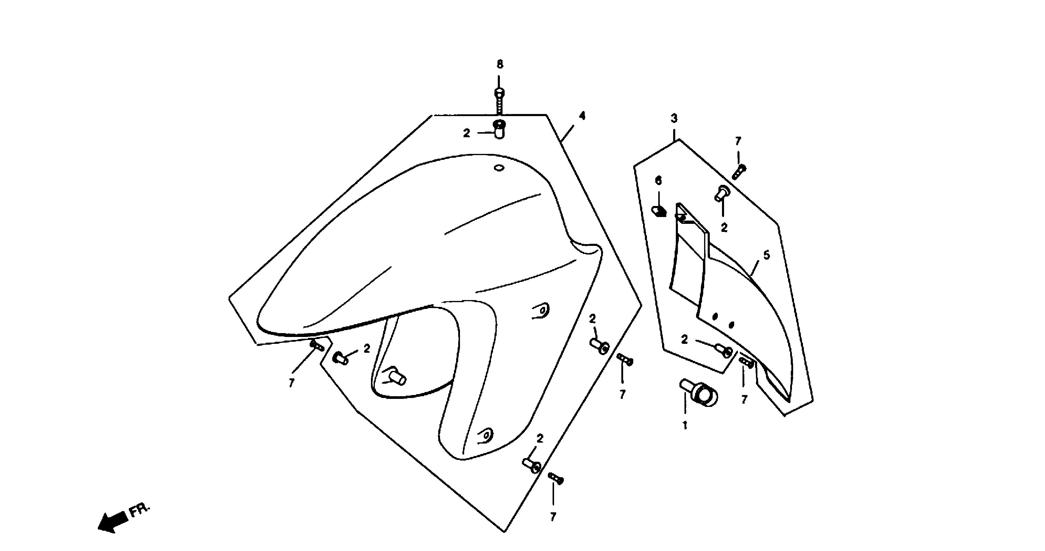 Kotflügel vorn