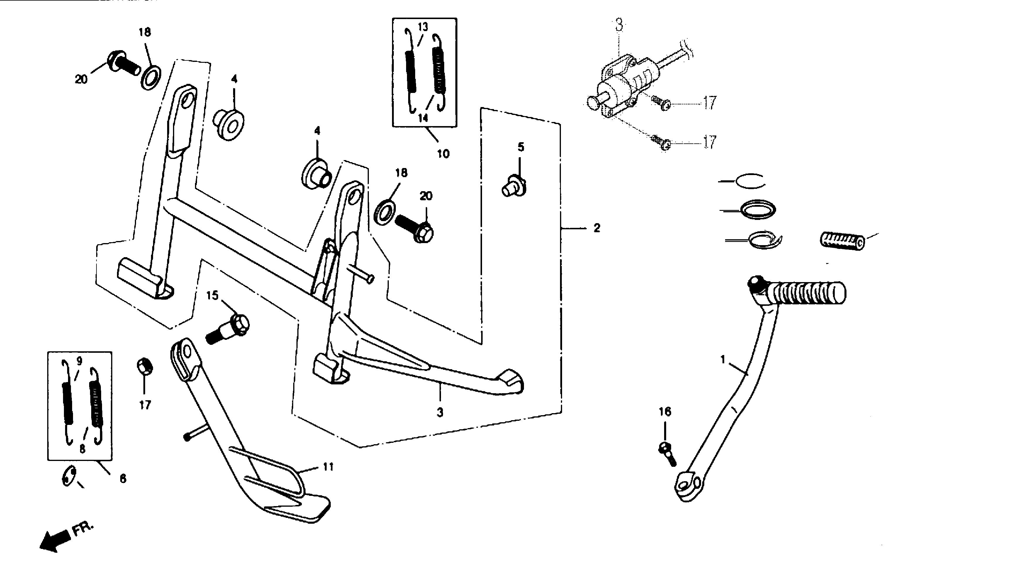 Ständer / Kickstarter