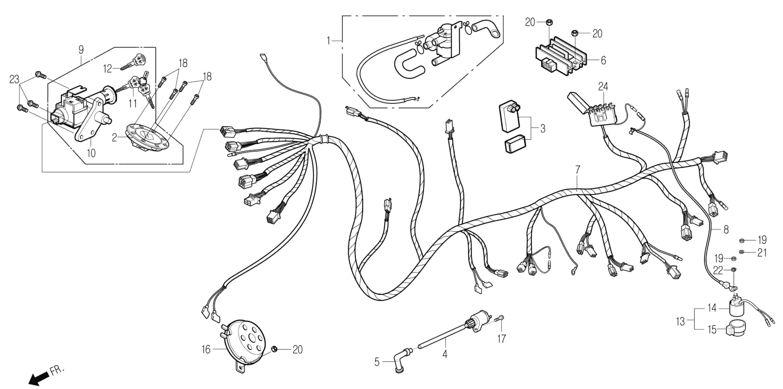 Elektrik,Schlösser , Kabelbaum, Sekundärluftventil