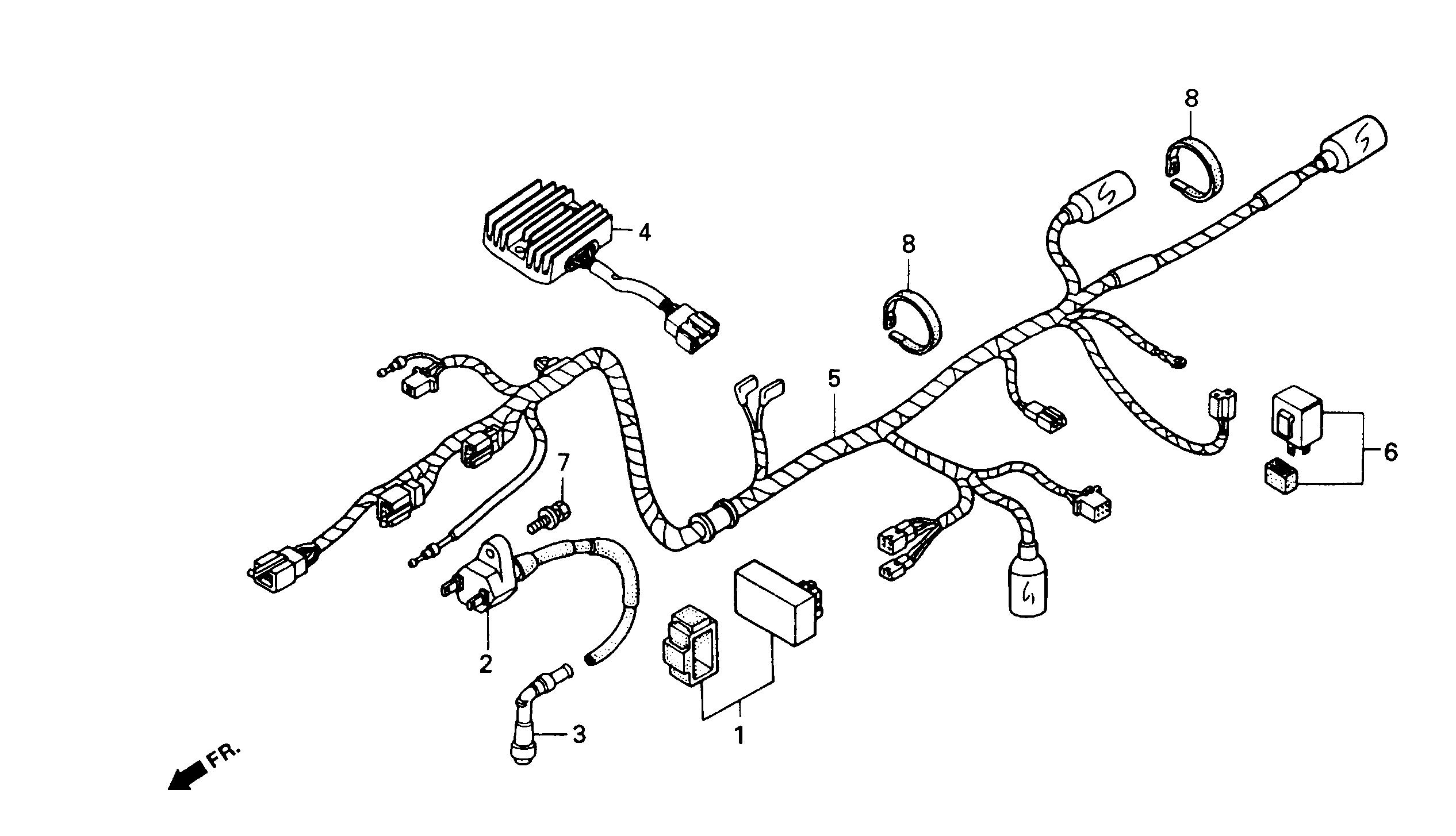 Kabelbaum / Zündspule / CDI / Regler