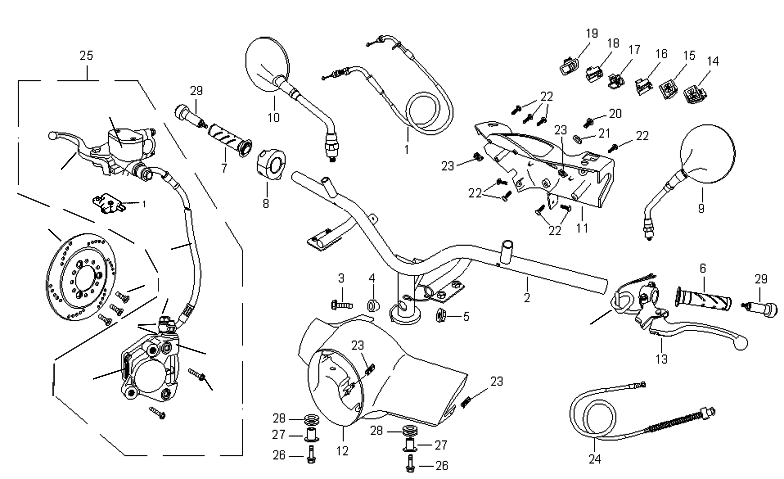 Lenker / Griffe / Schalter