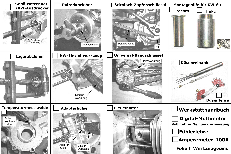 Spezialwerkzeuge