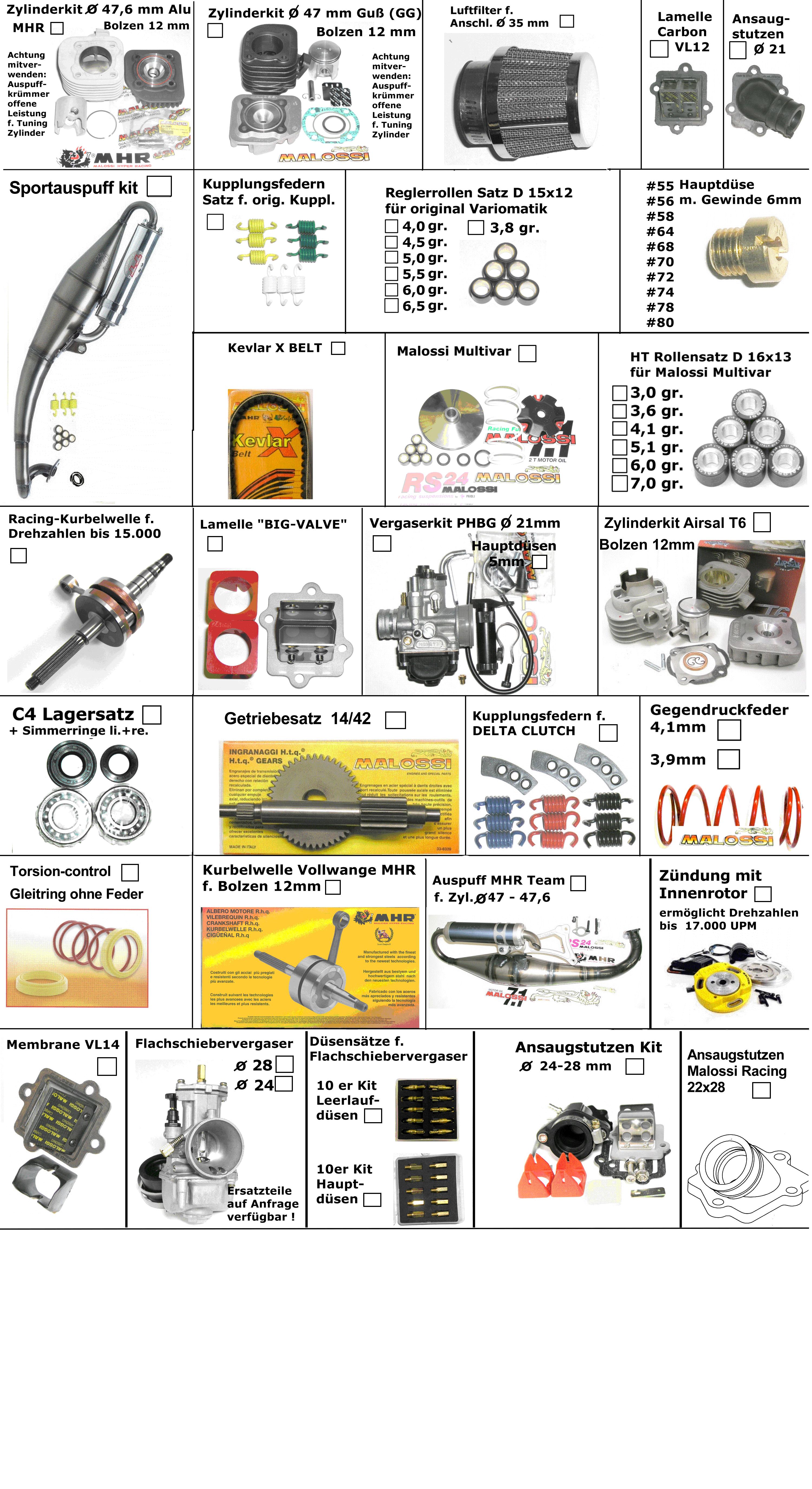 Tuning (2-Takt Motor)