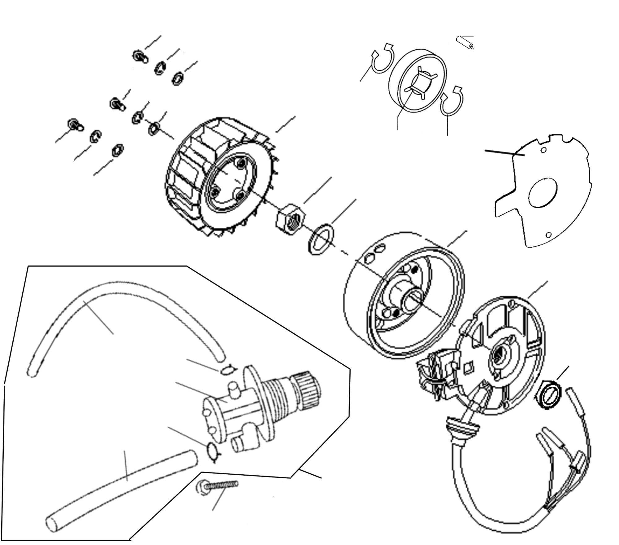 Lichtmaschine, Ölpumpe