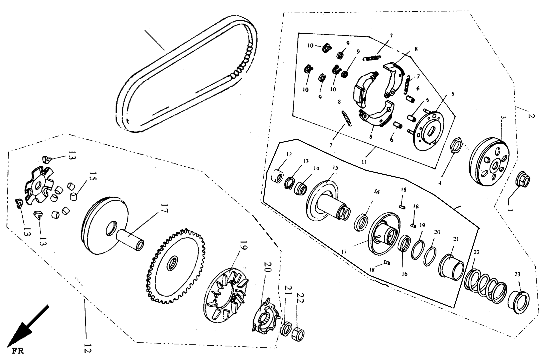 Kupplung, Variomatik