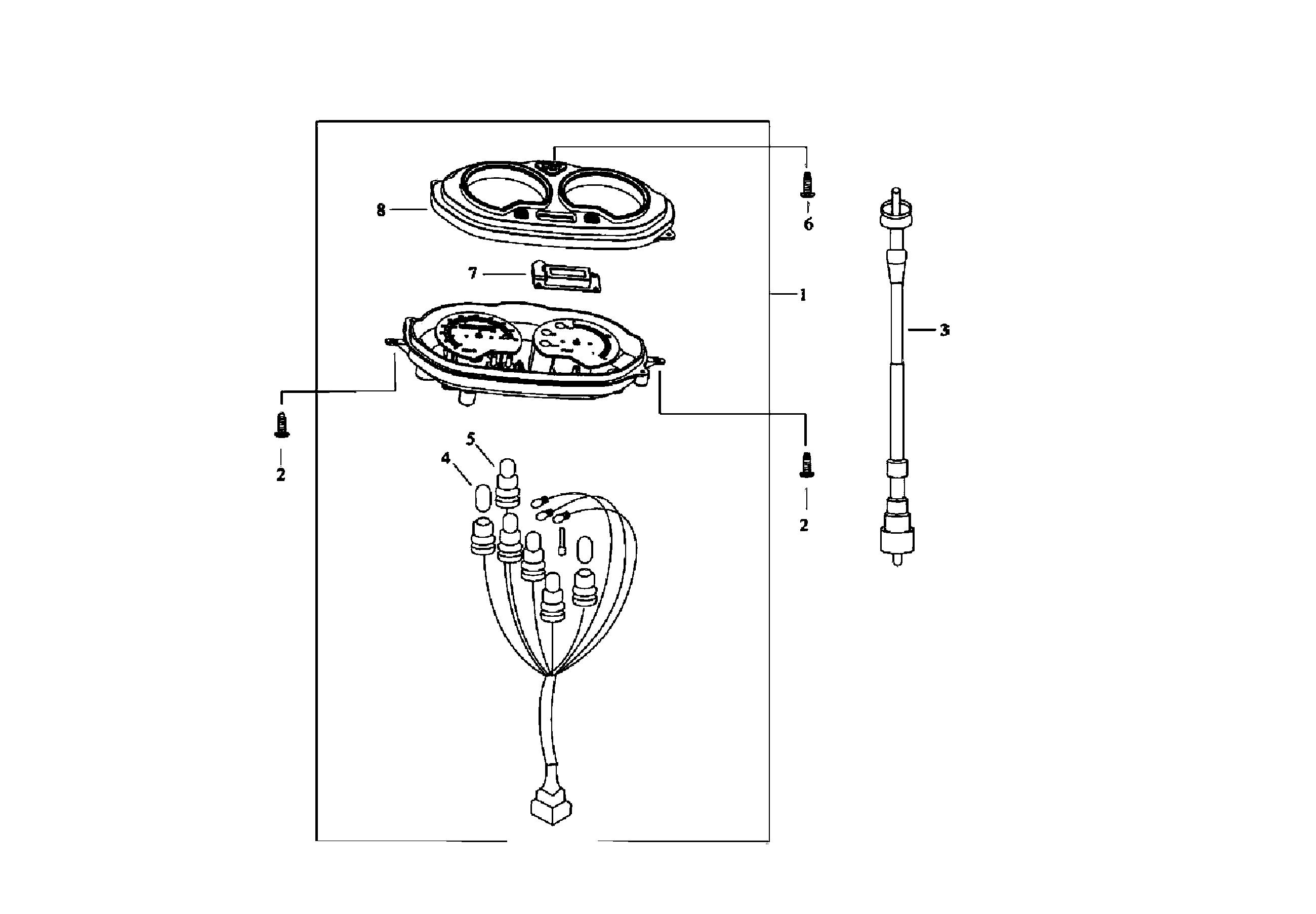 Instrumente, Tachowelle