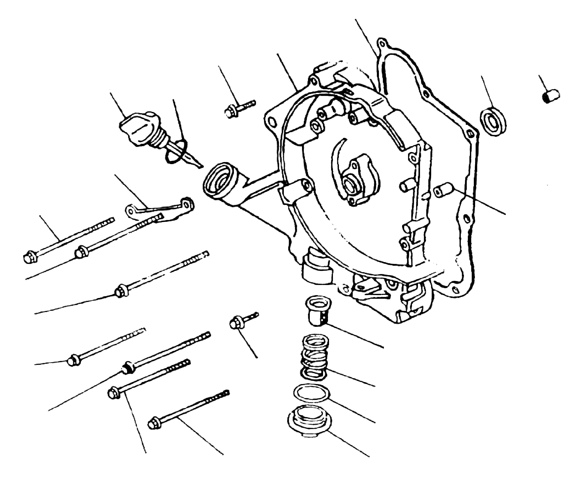 Gehäusedeckel rechts