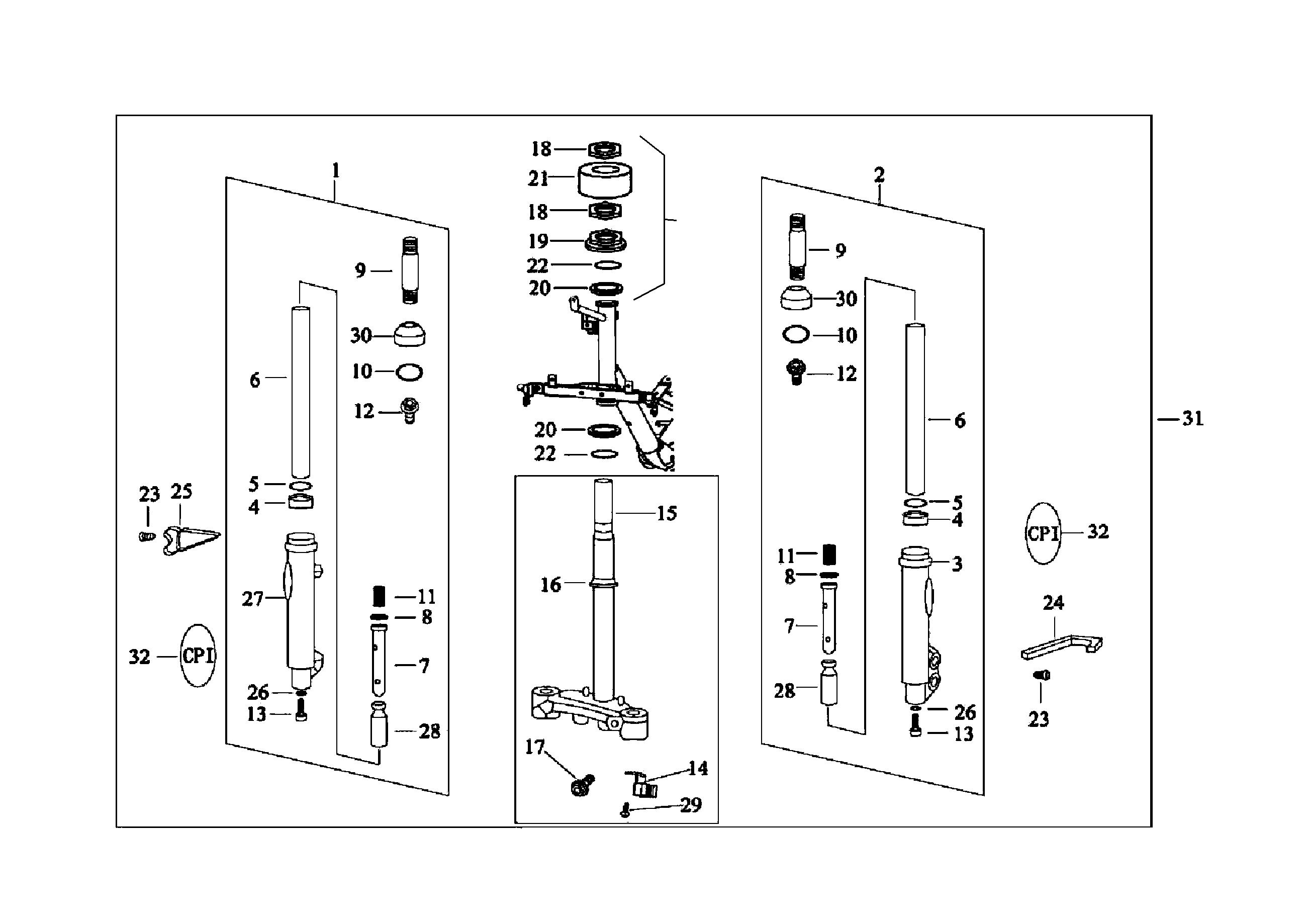 Vorderradgabel