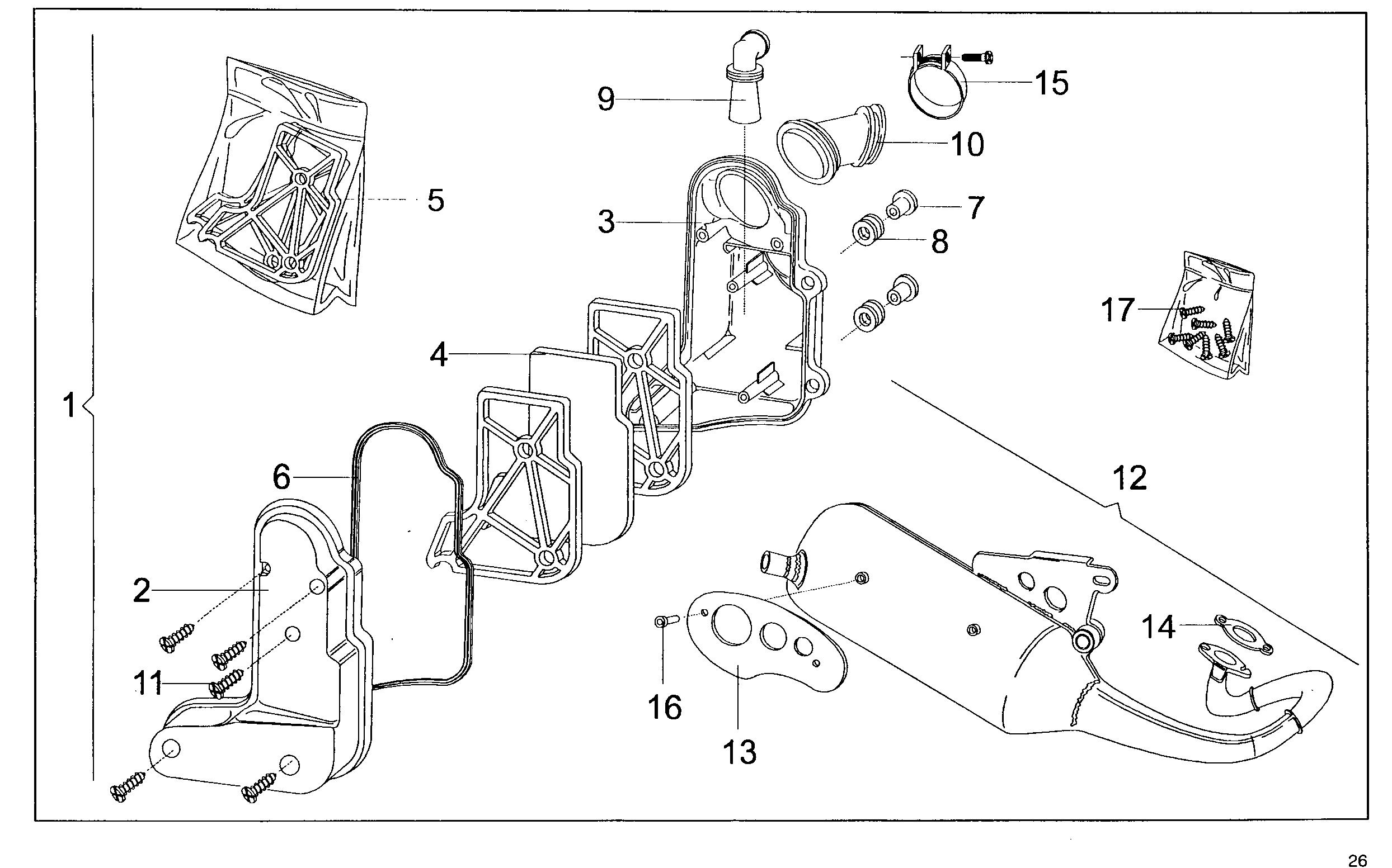 Luftfilter / Auspuff