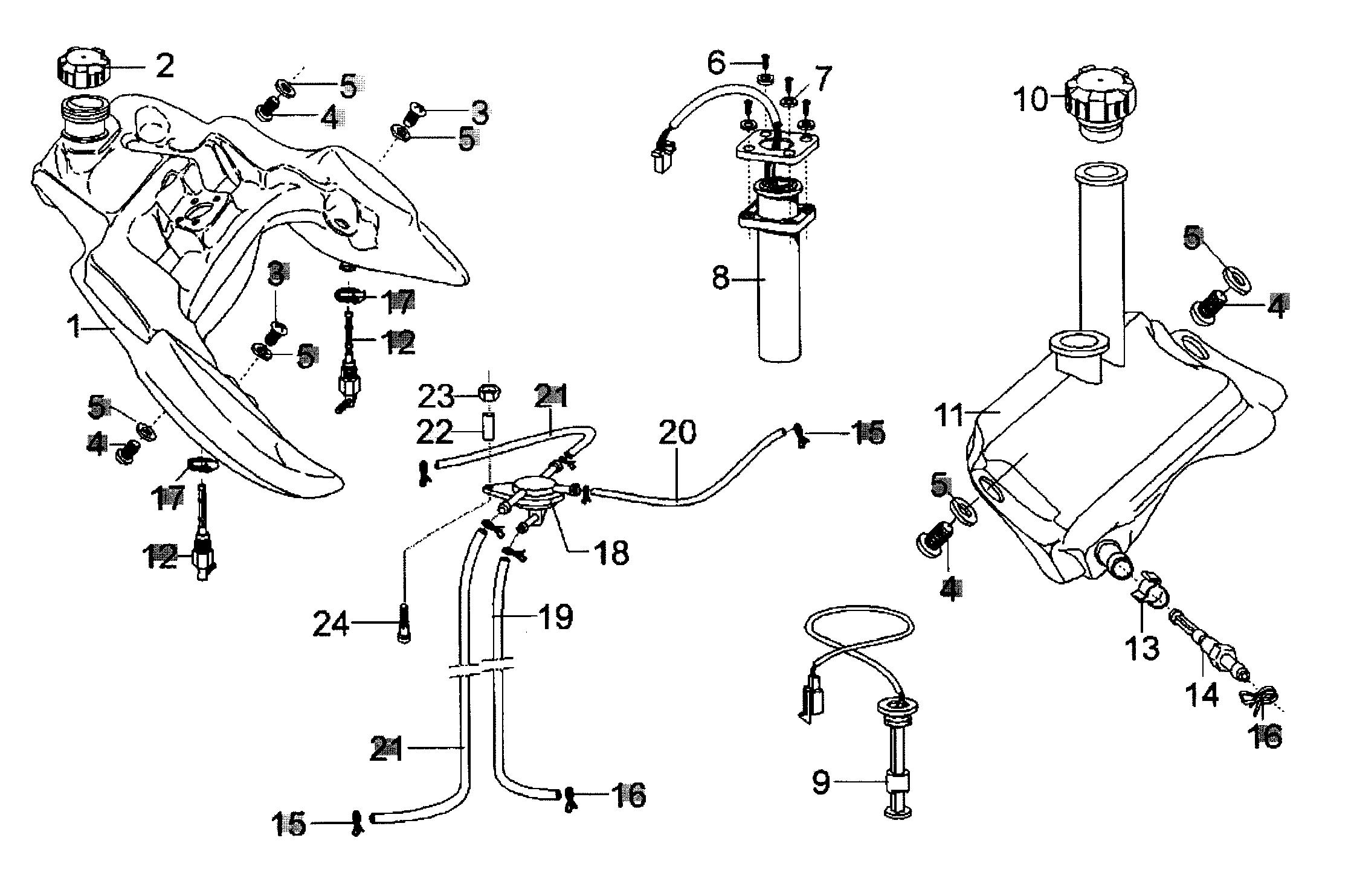 Tank / Öltank
