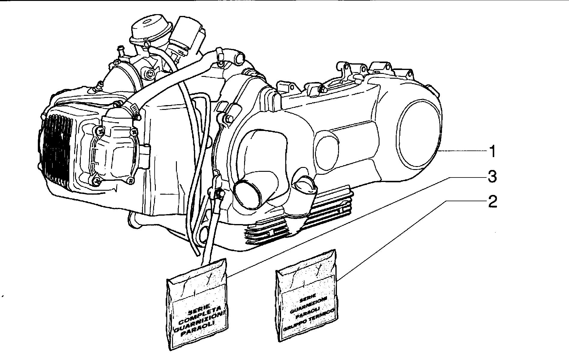 Motor komplett