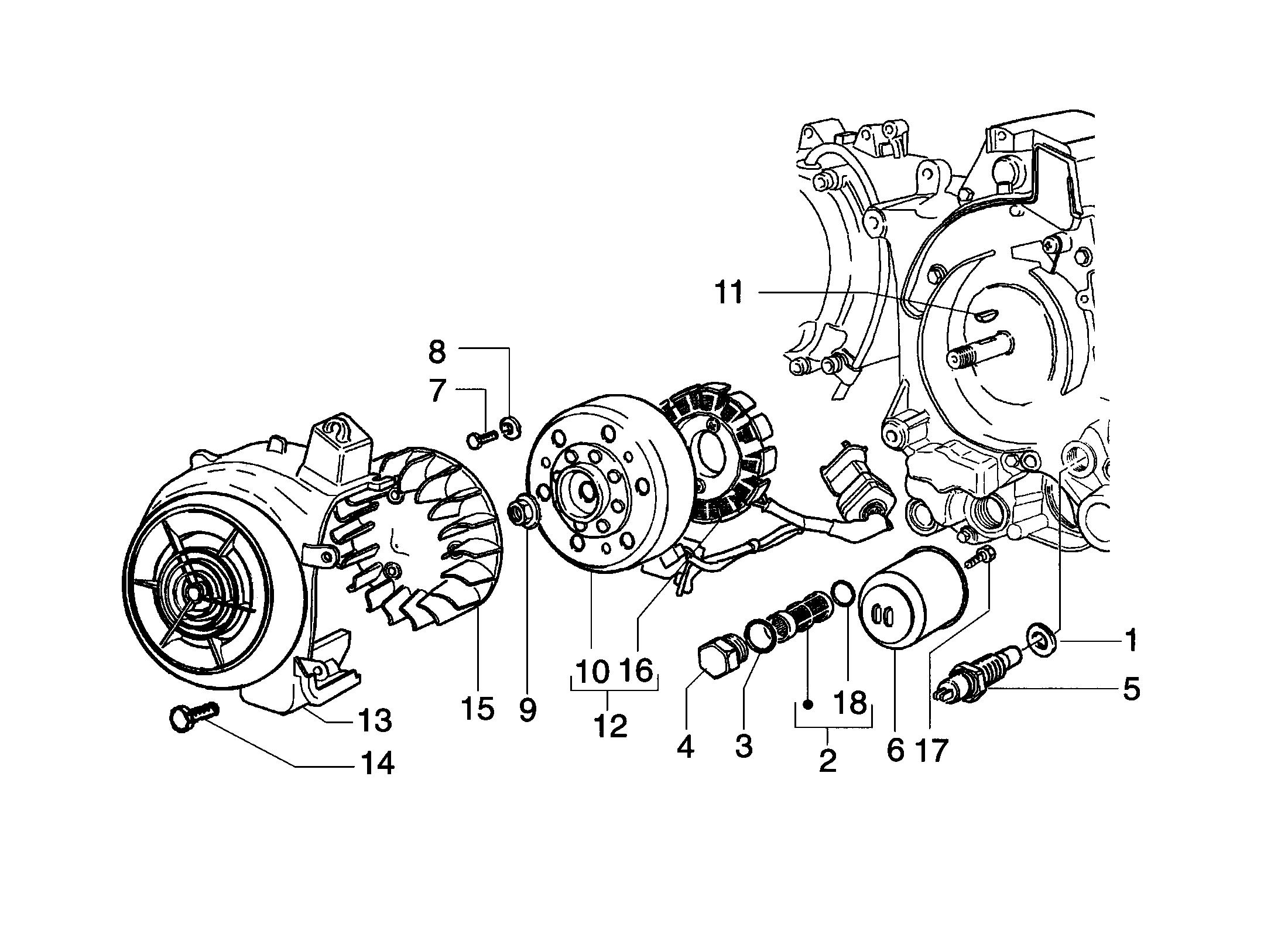 Lichtmaschine/Ölfilter