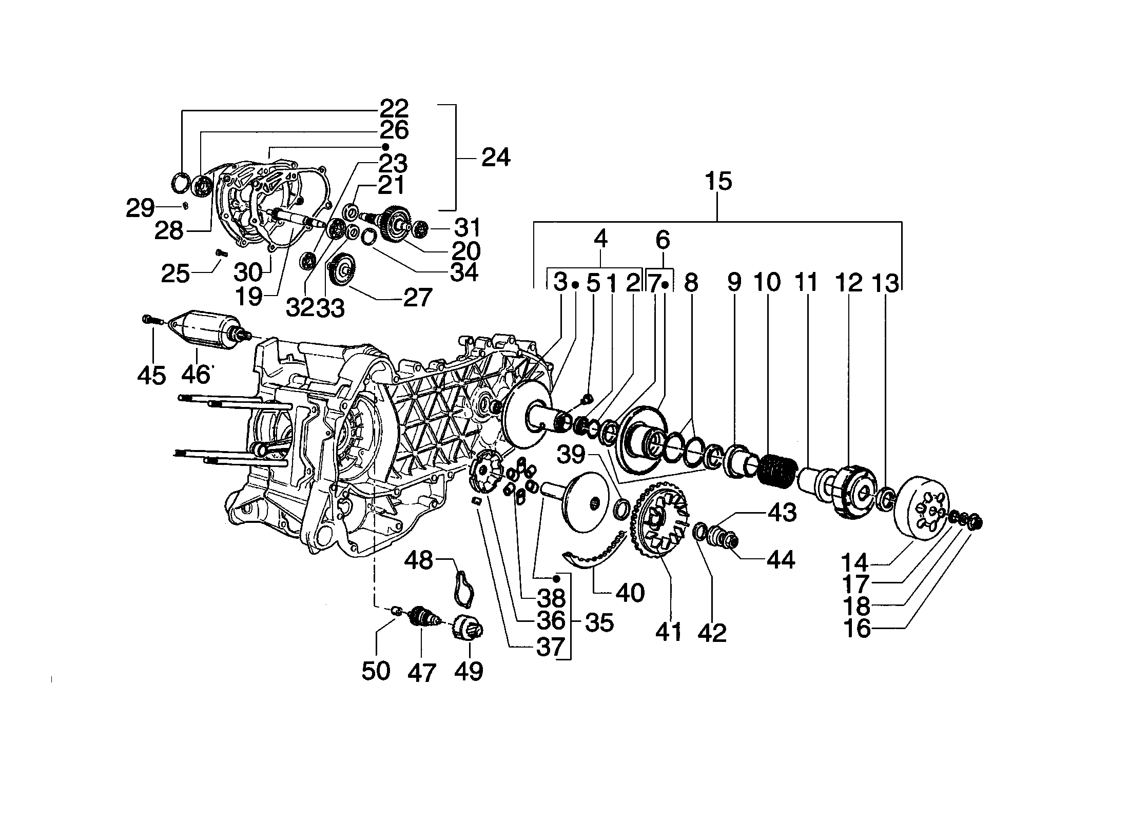 Variator/Getriebe