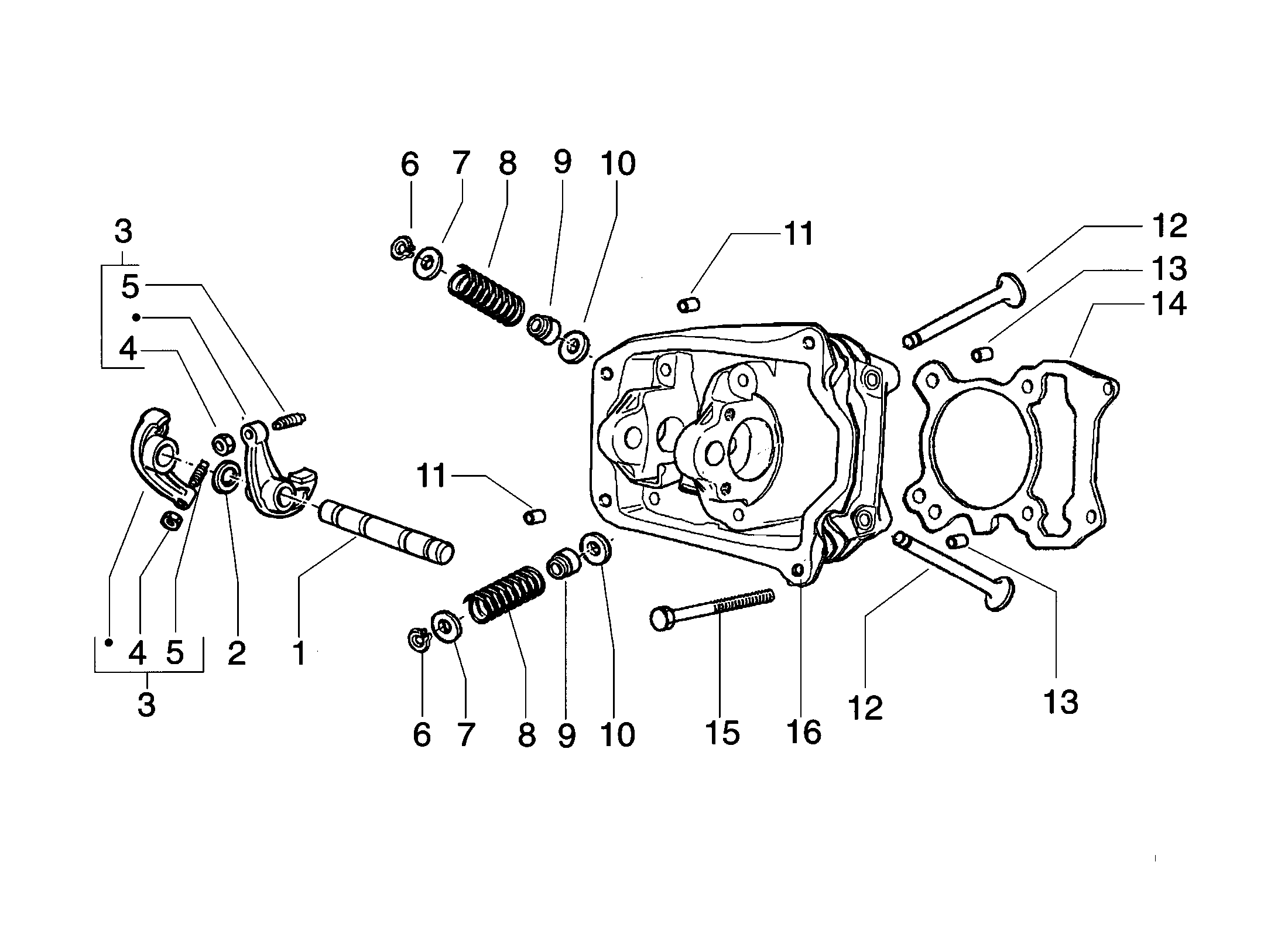 Zylinderkopf/Ventile