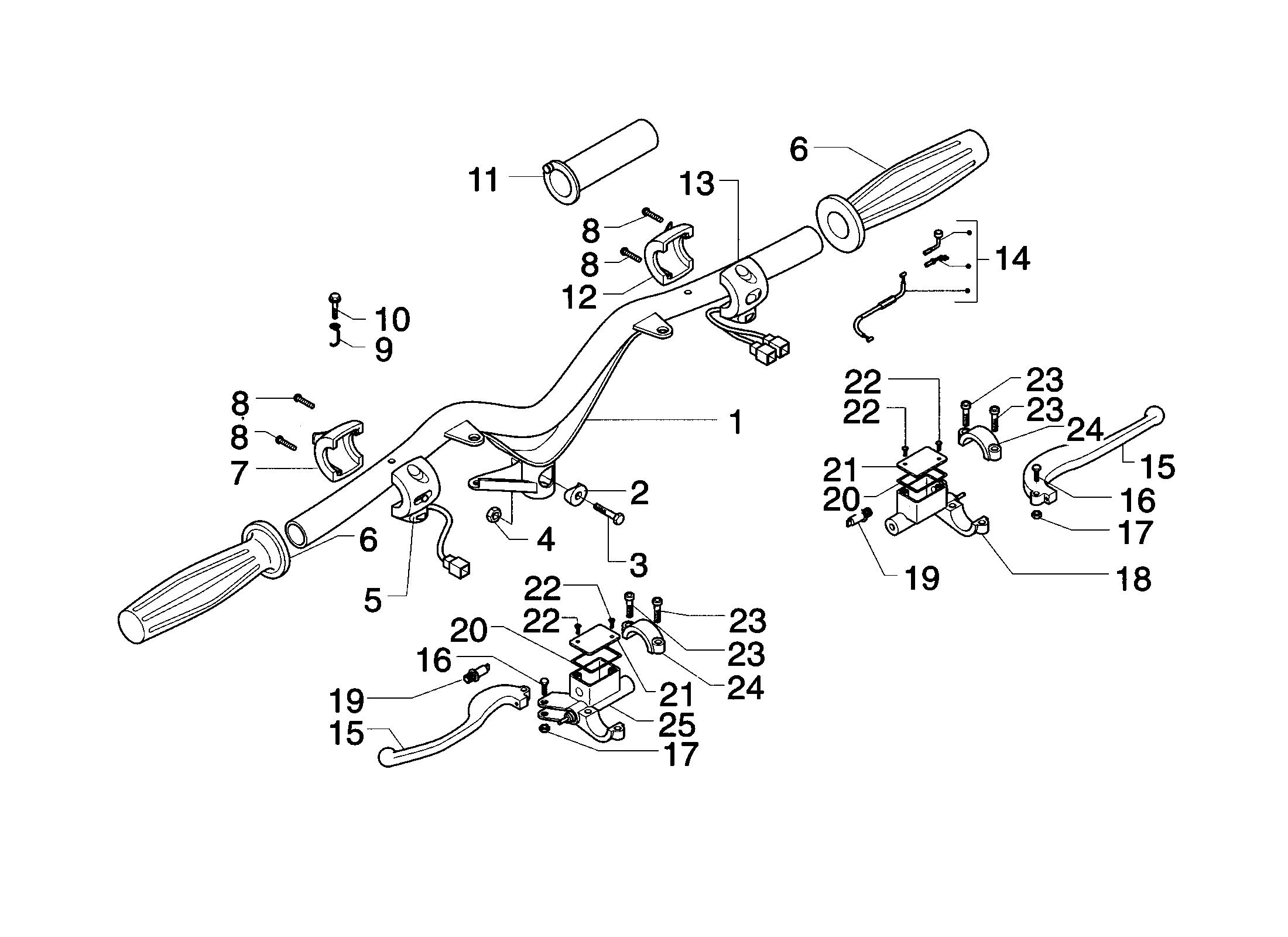 Lenker/Schalter/Bremspumpen