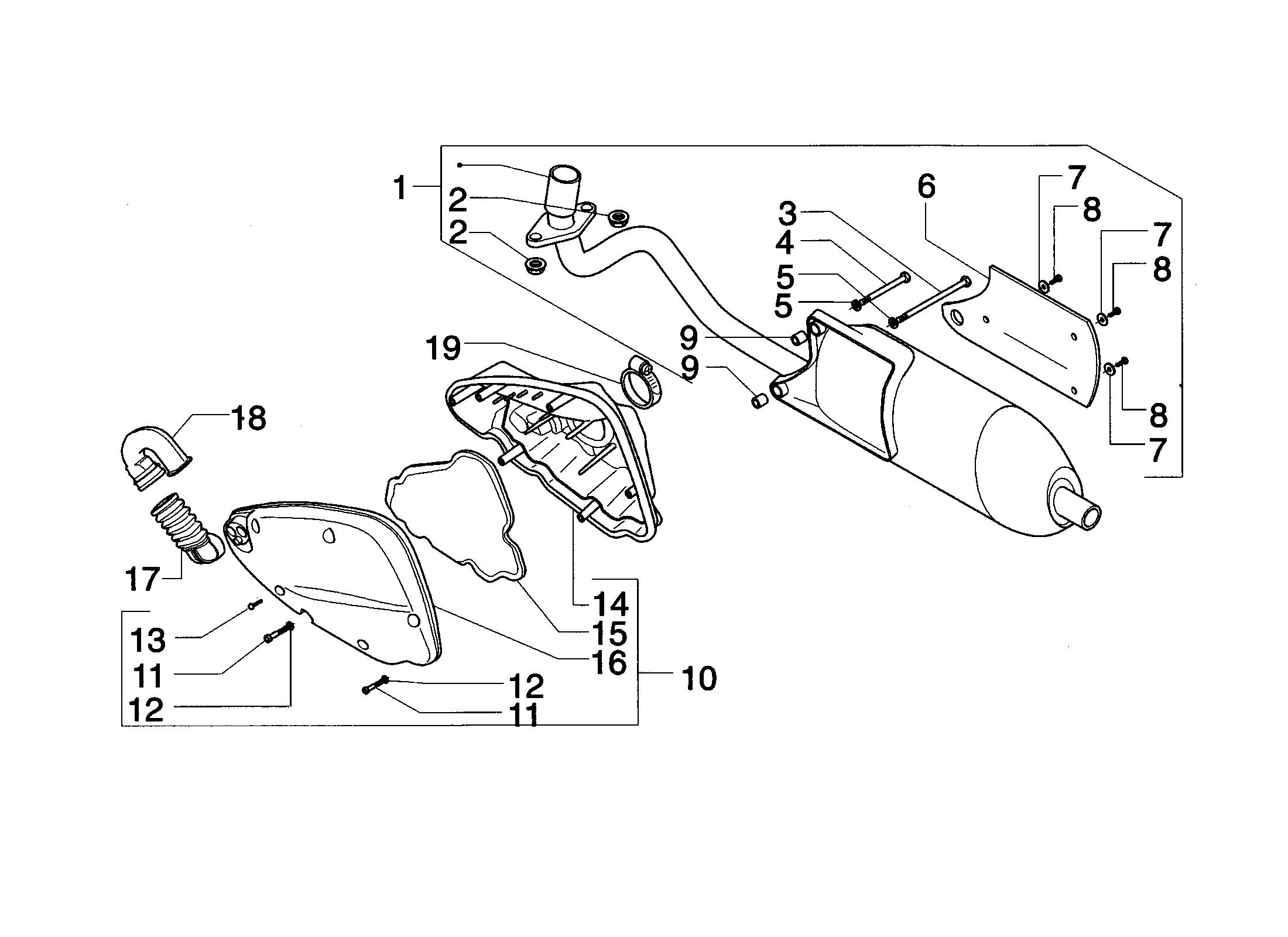 Luftfilter/Auspuff