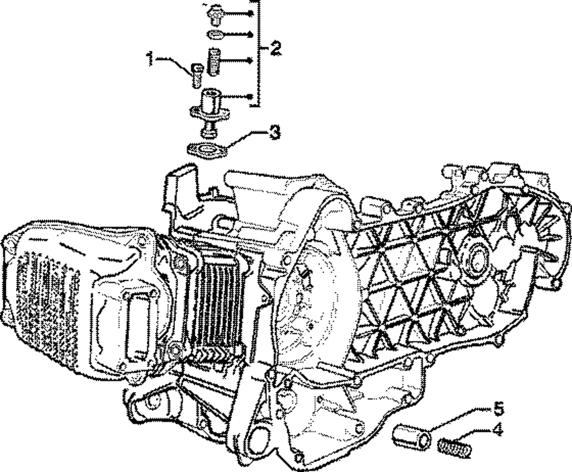 Kettenspanner, Öldruckventil