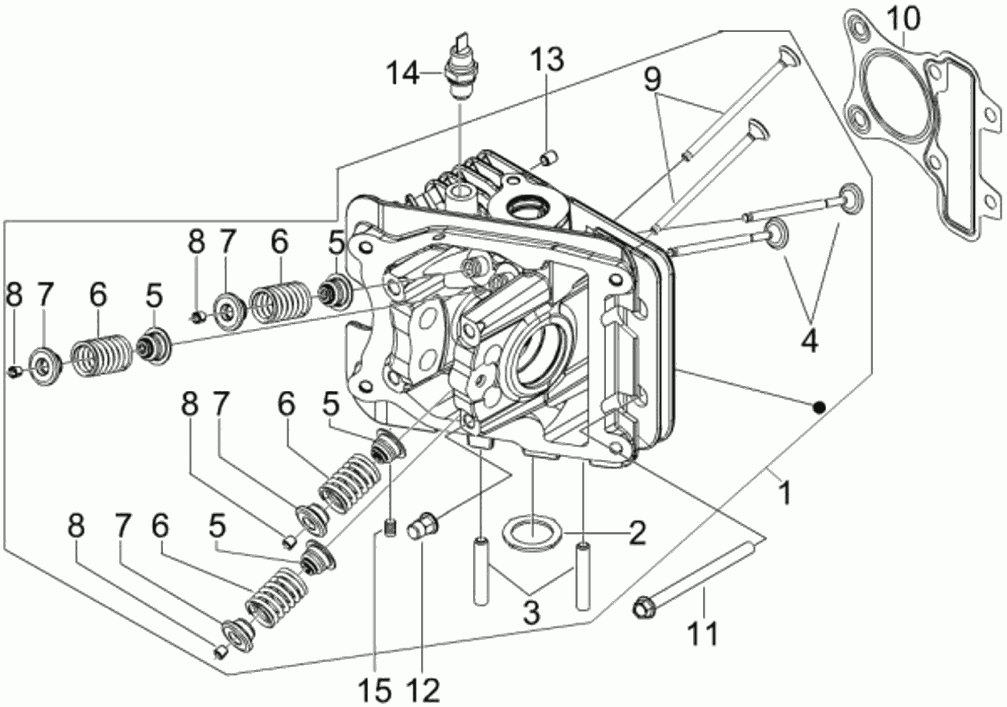 Zylinderkopf (4V)