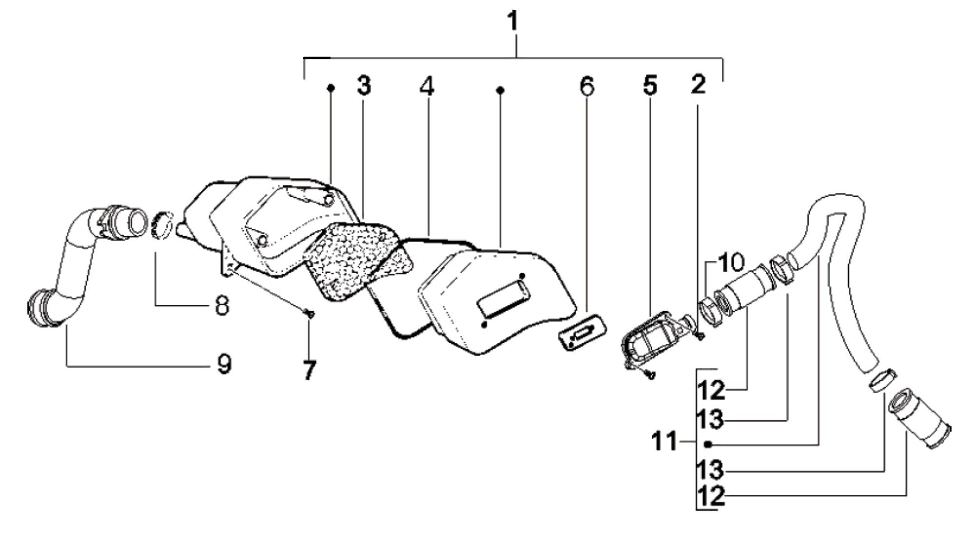 Sekundärluftsystem