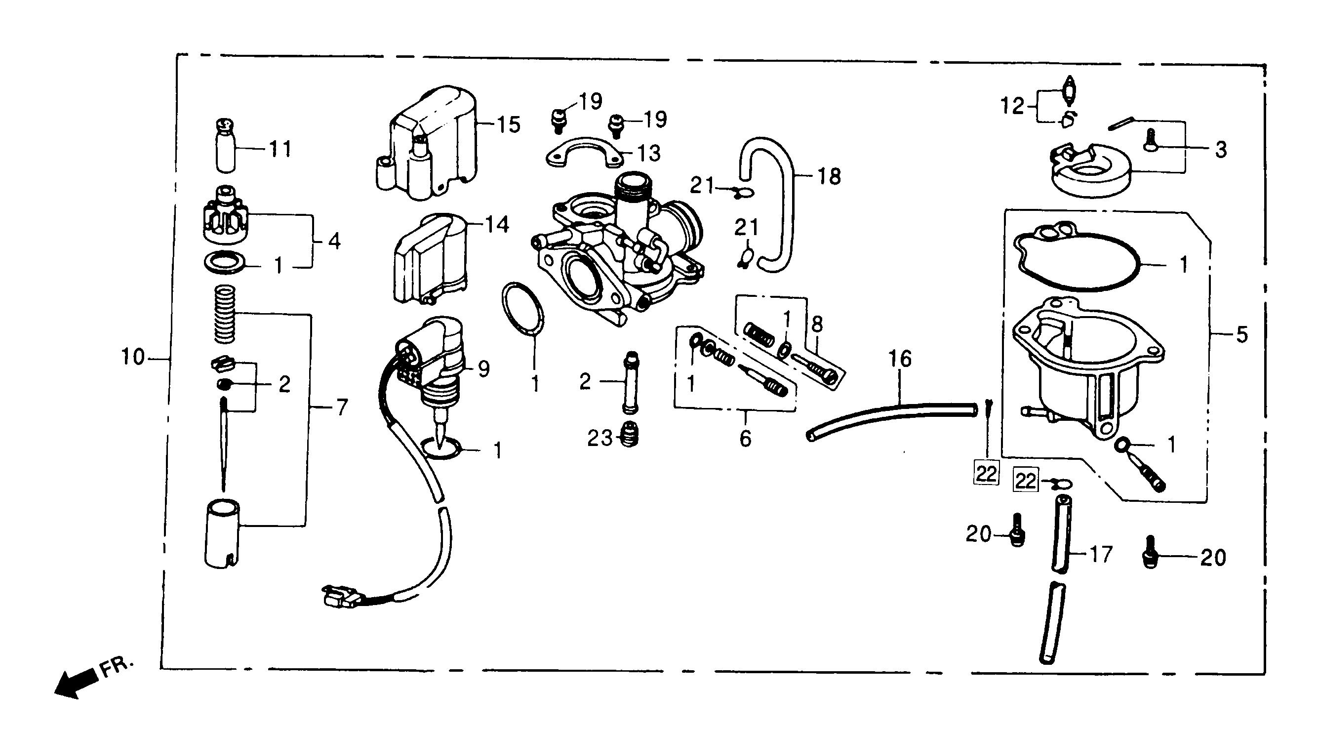 Gurtner / KNG Vergaser 12mm m. Metall-Schwimerkammer