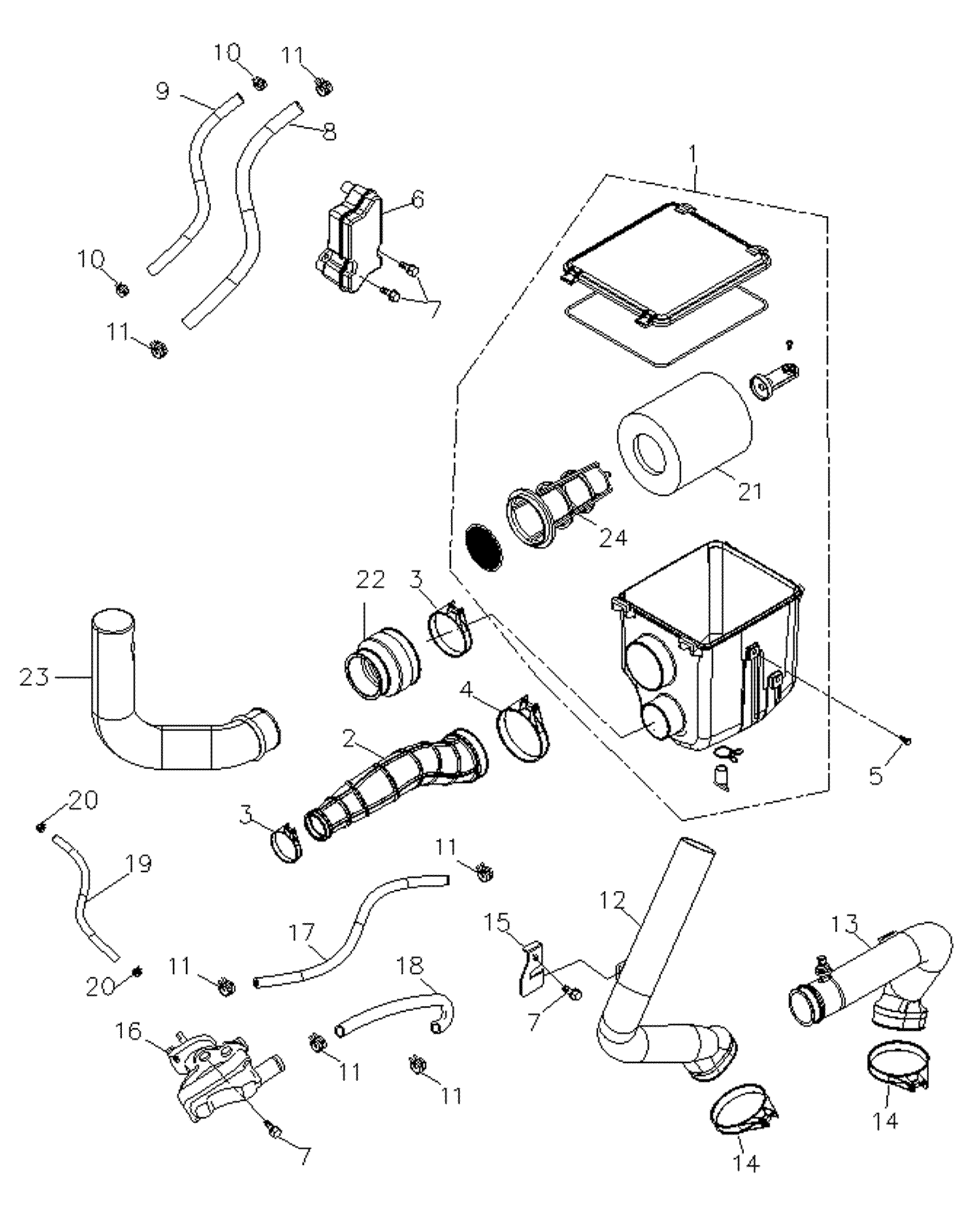 Luftfilter VKP