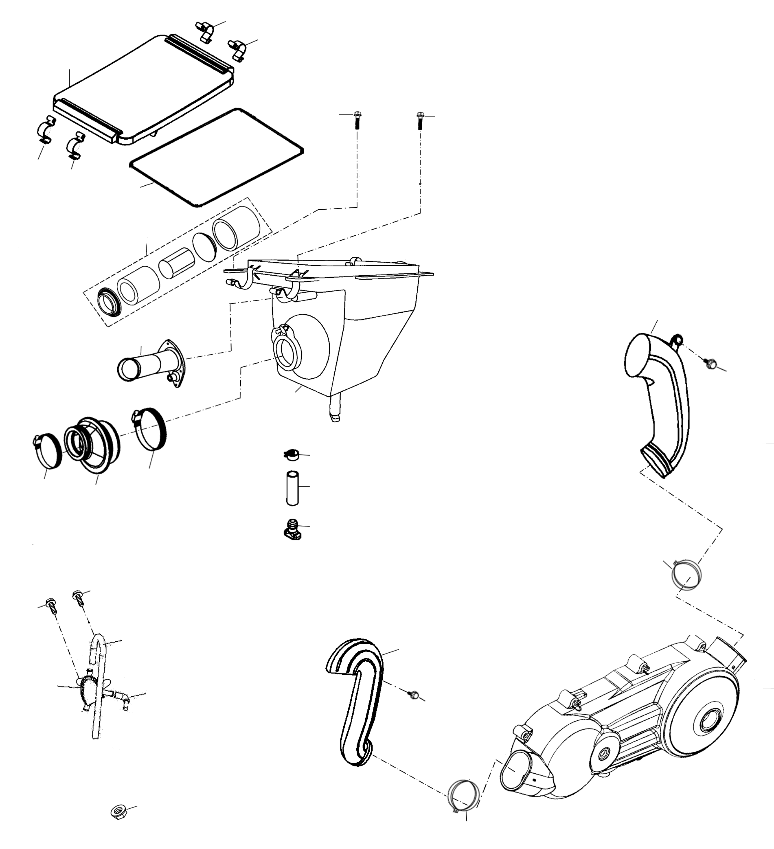 Luftfilter, Motorentlüftung