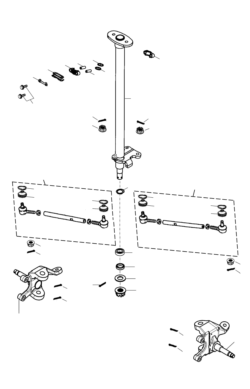 Lenkung, Achsschenkel