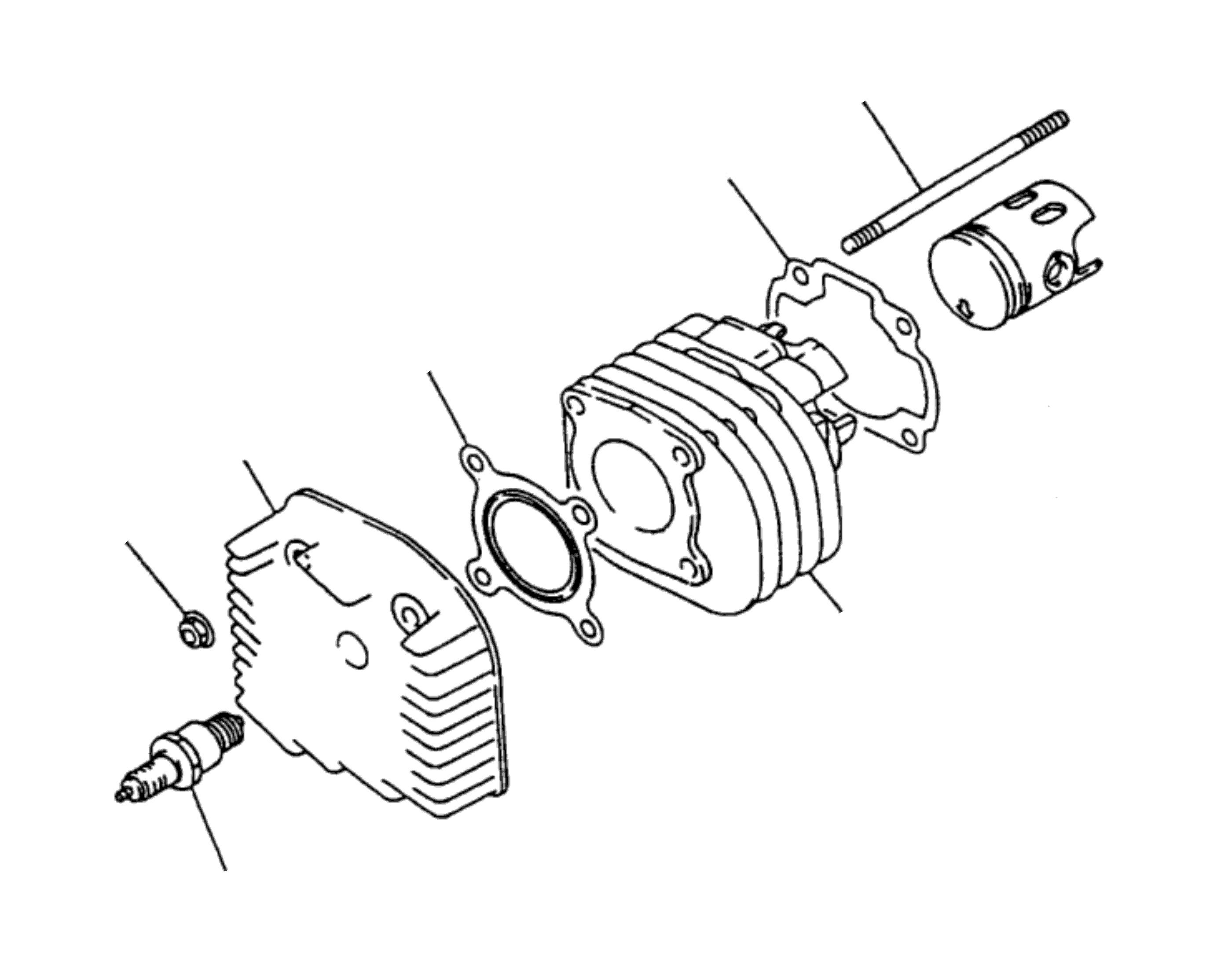 Zylinderkopf, Zylinder