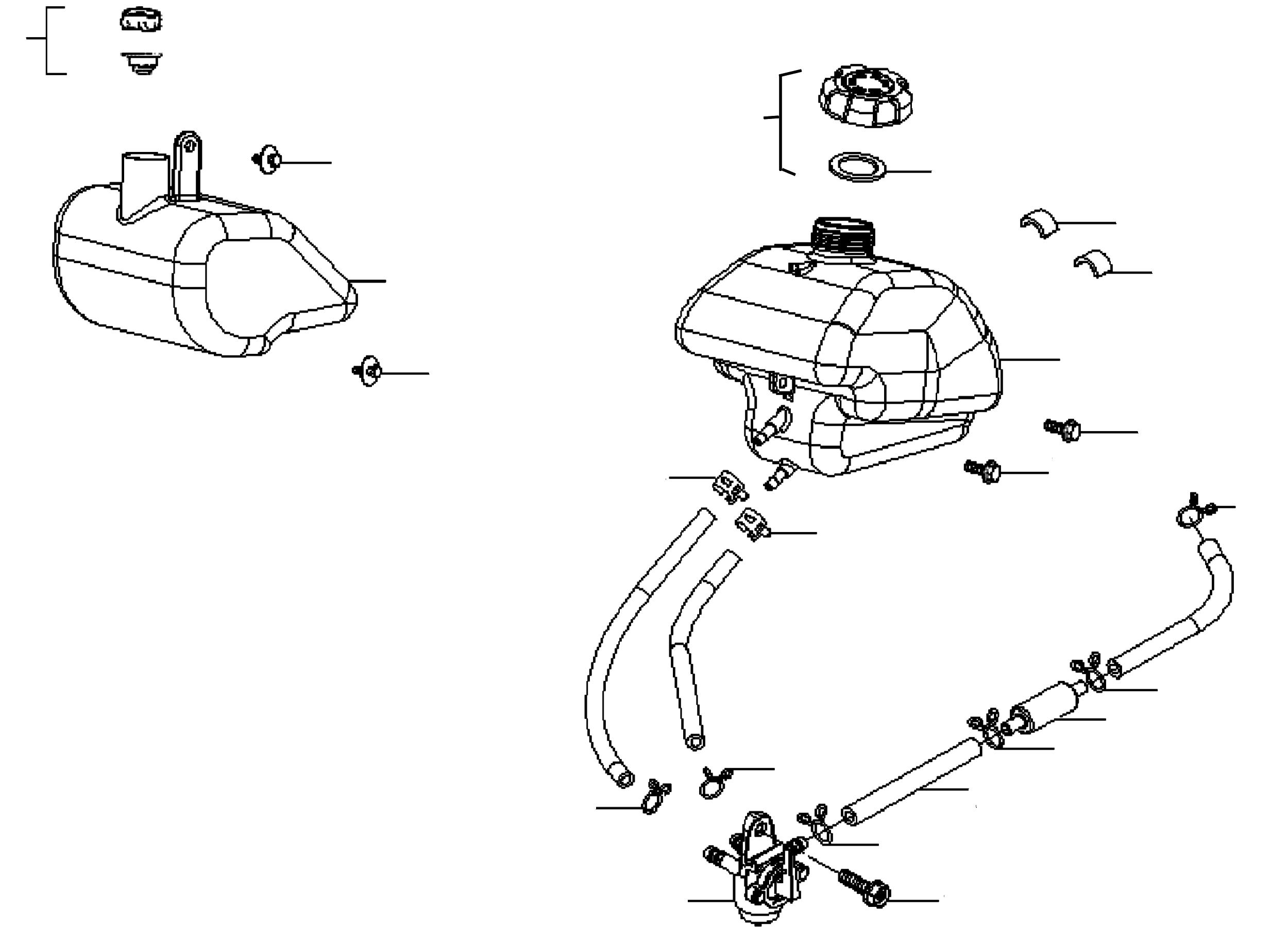 Benzintank / Öltank