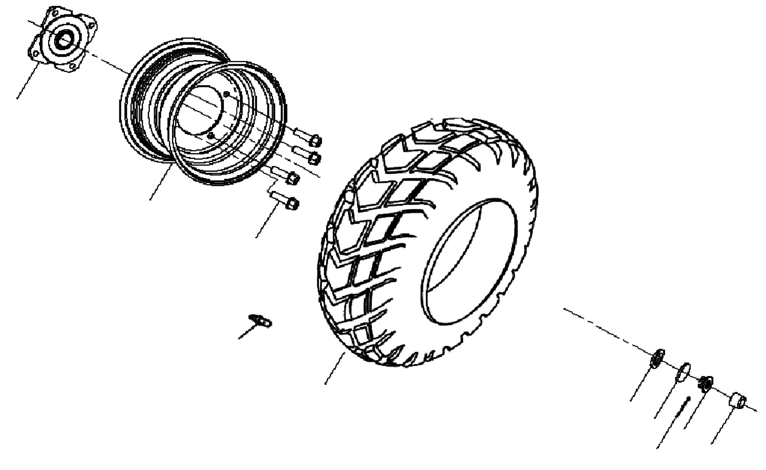 Räder hinten
