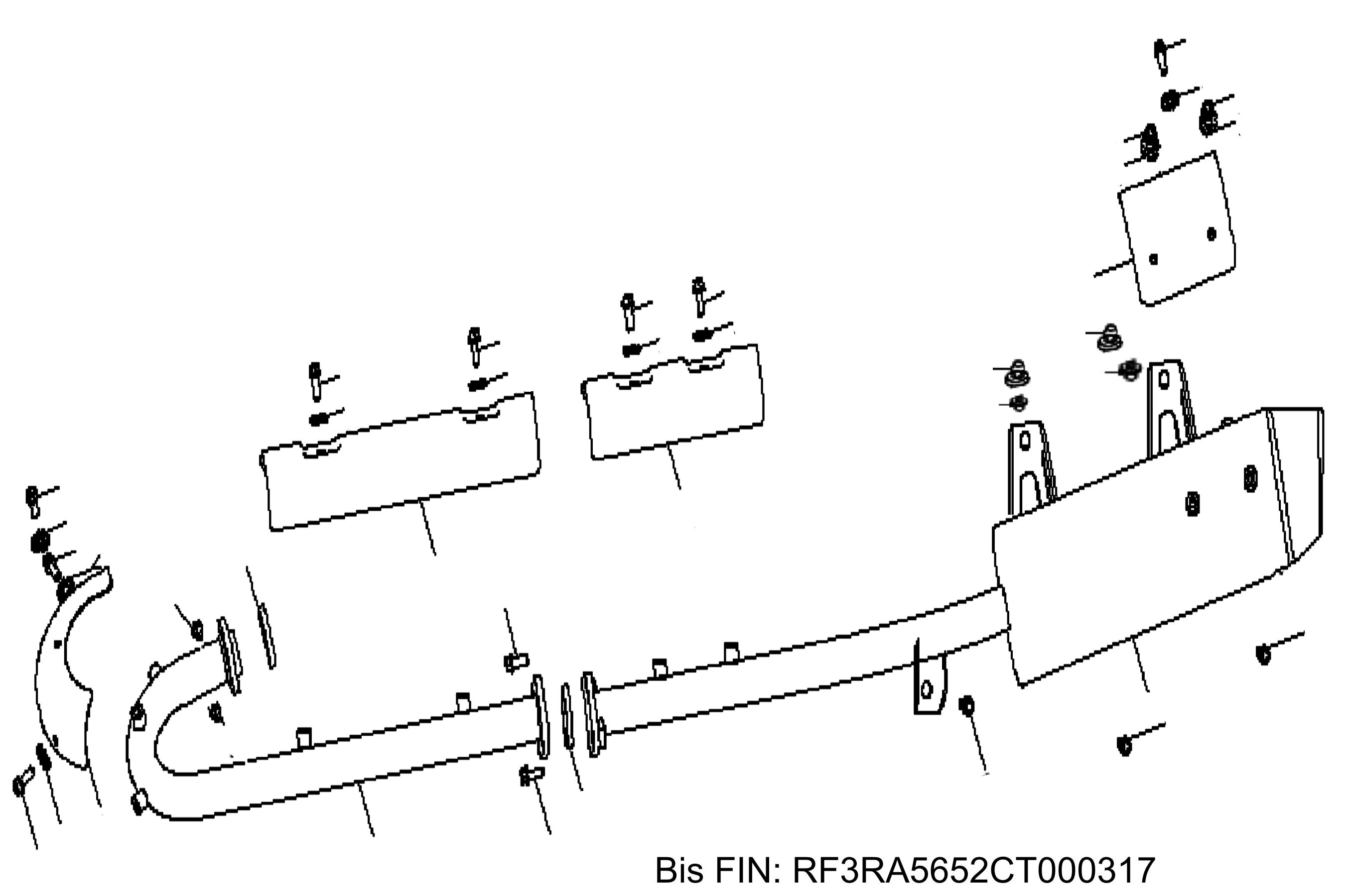 Auspuff bis RF3RA5652CT000317