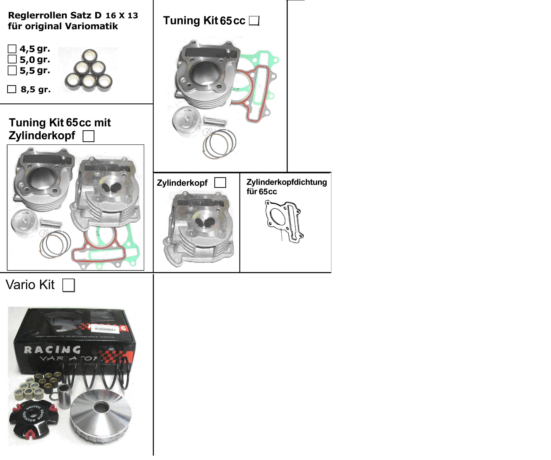 Tuning 4-Takt Motor