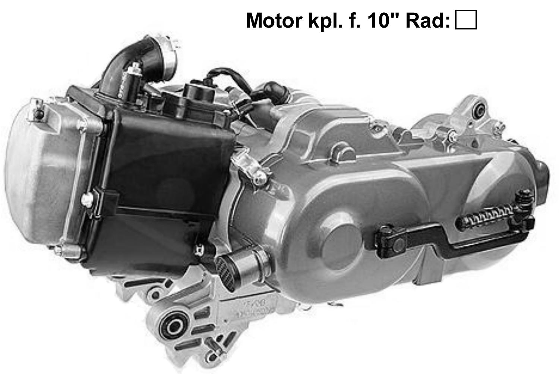 Motor kpl.