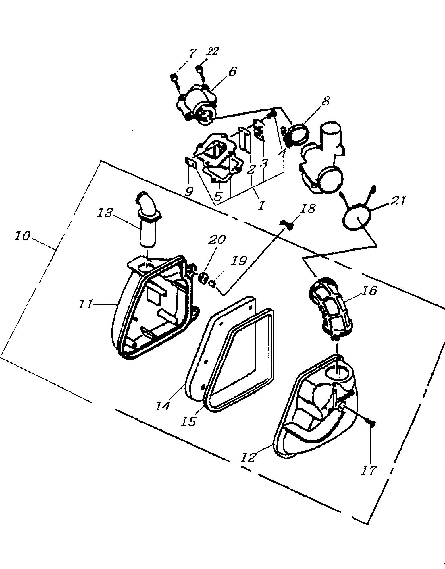 Einlasslamelle / Luftfilter