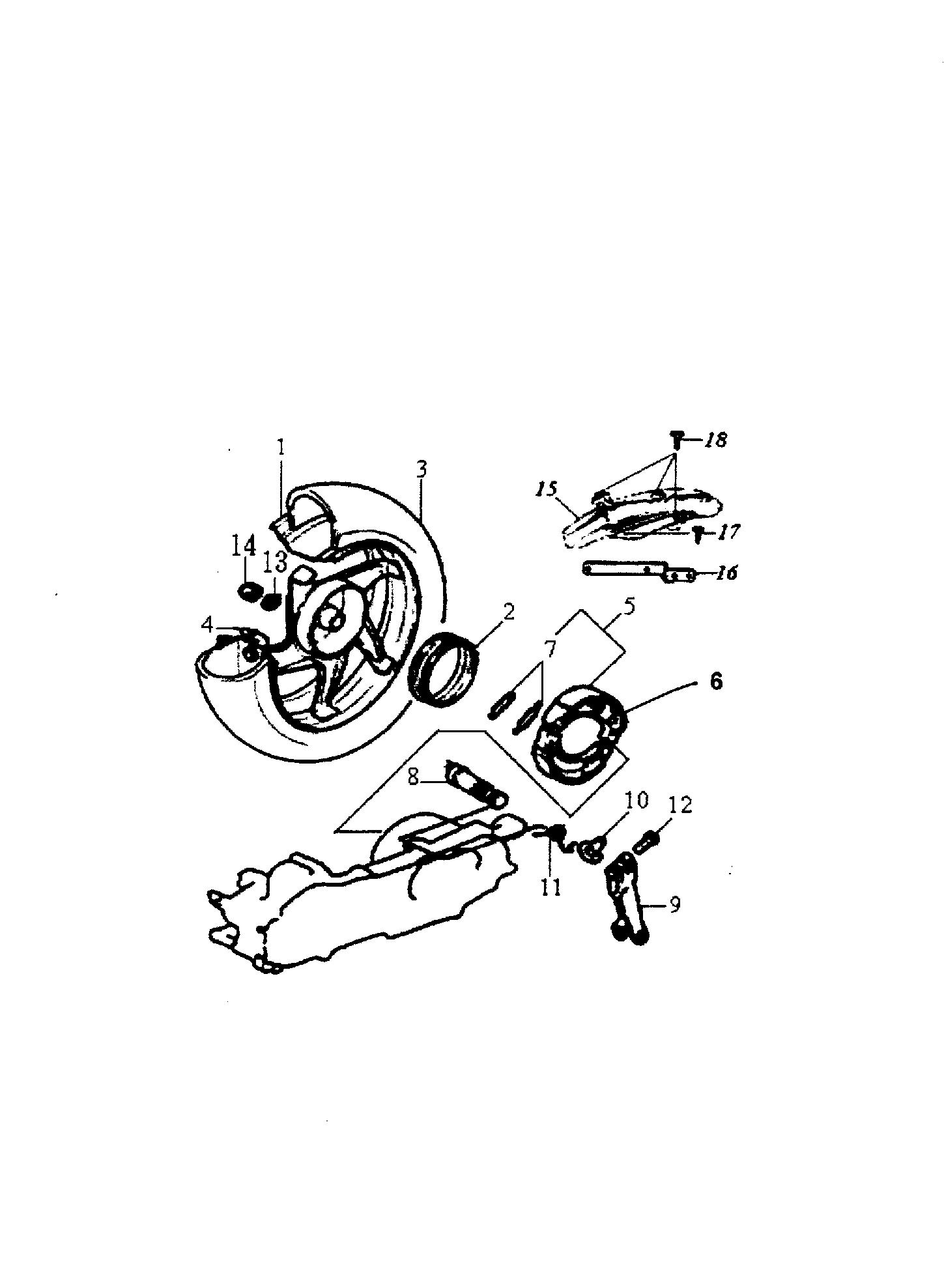 Hinterrad / Kotflügel