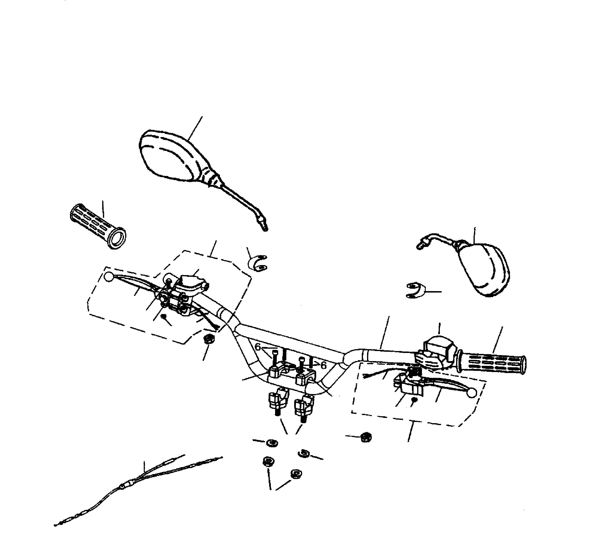 Züge, Lenker, Spiegel