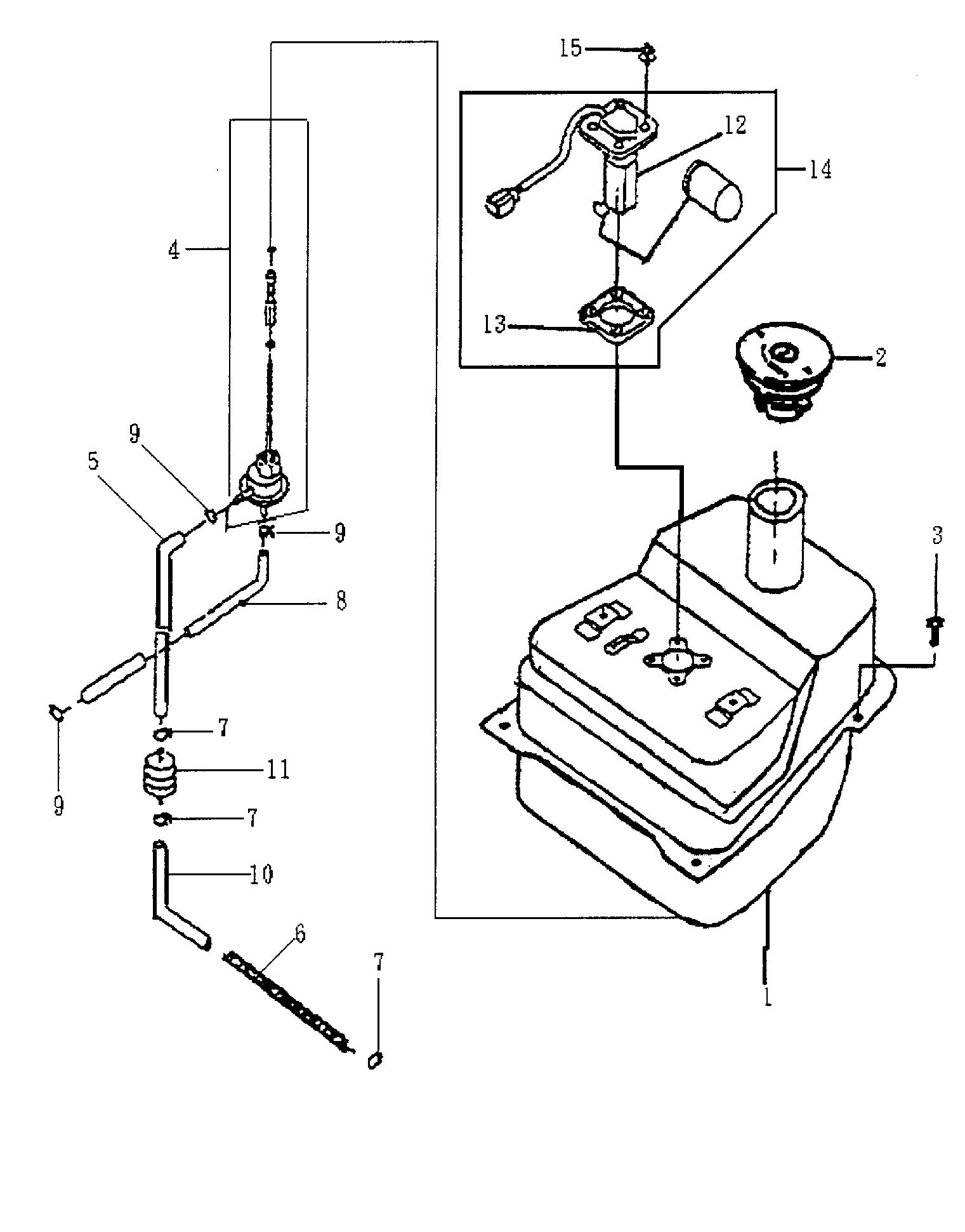 Benzintank