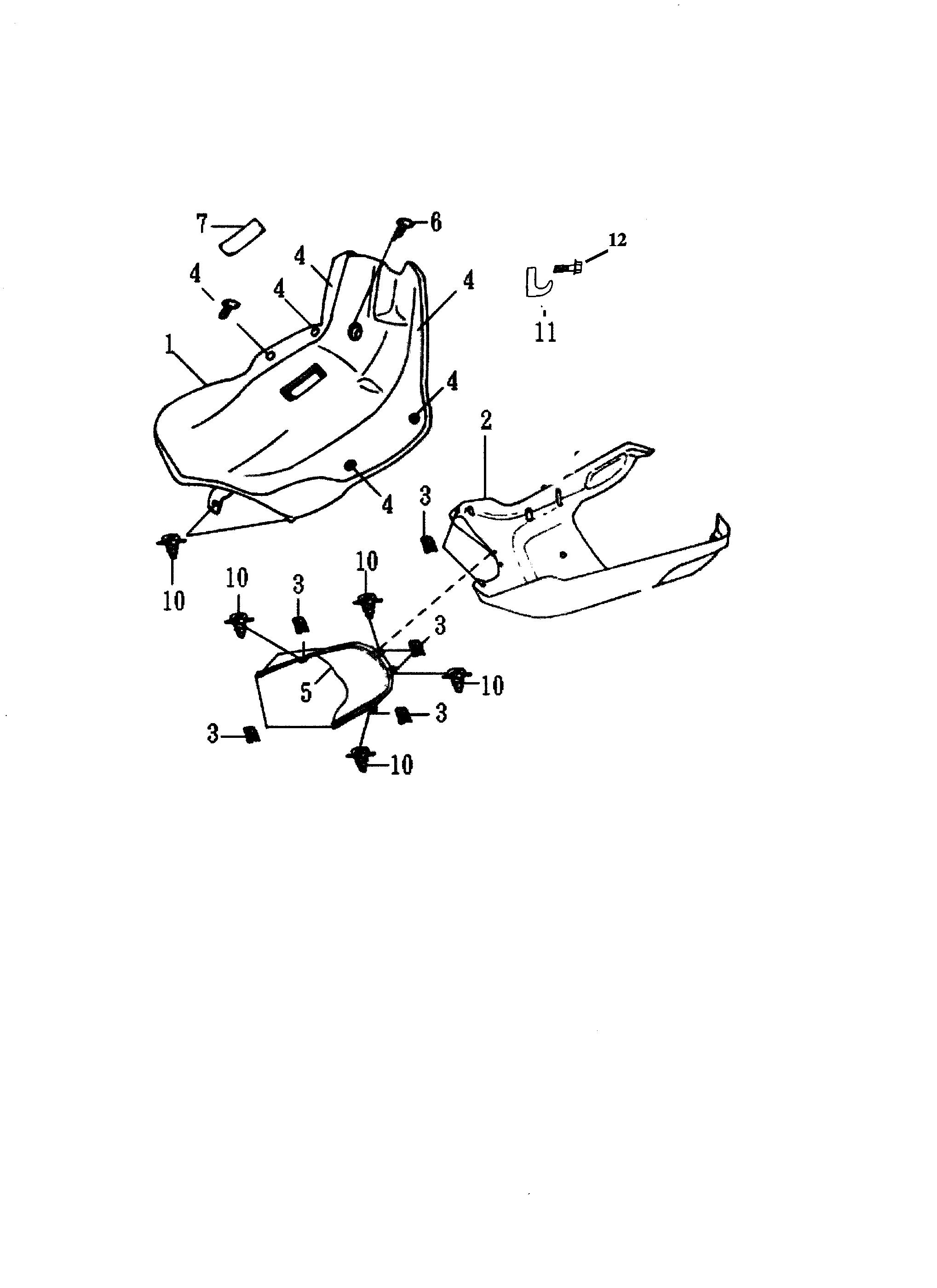 Innenverkleidung / Unterboden