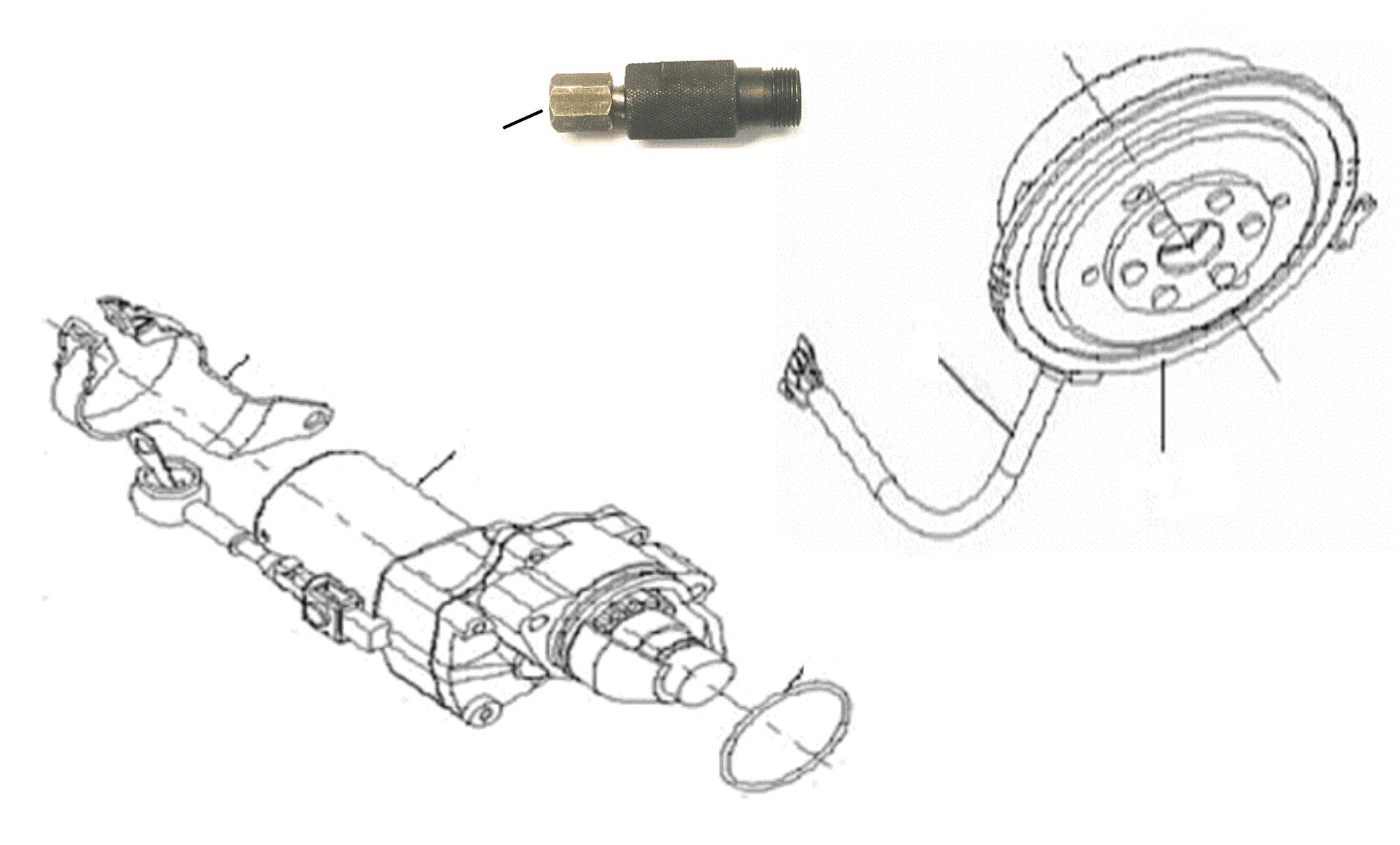 Anlasser, Lichtmaschine