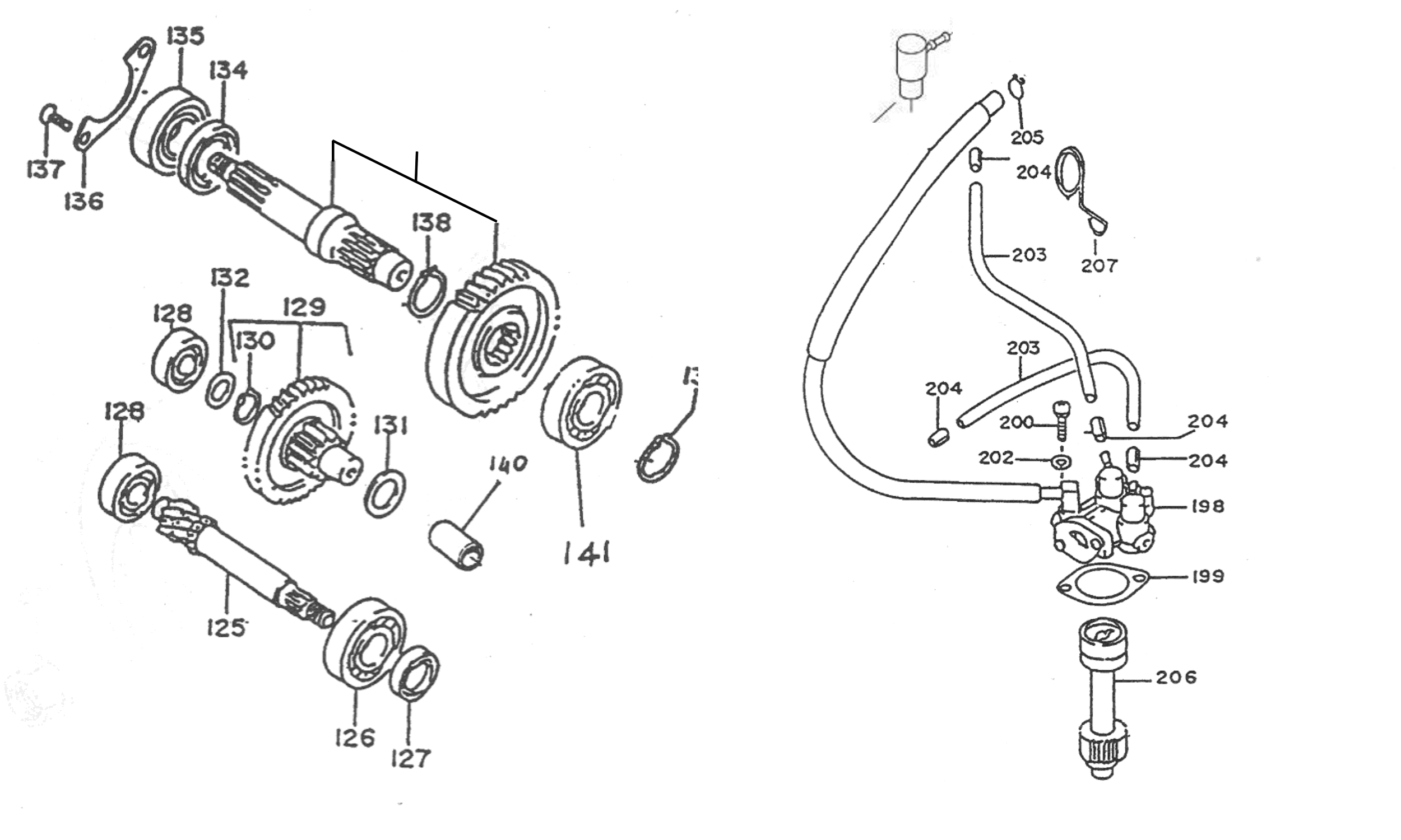 Getriebe, Ölpumpe
