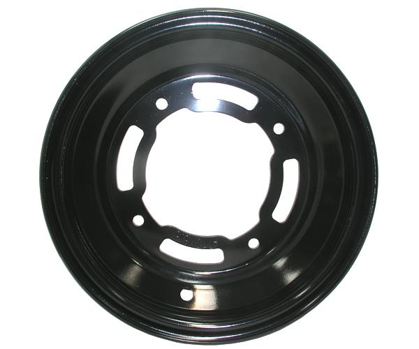 Felge vo. 10x5.5 Stahl schwarz